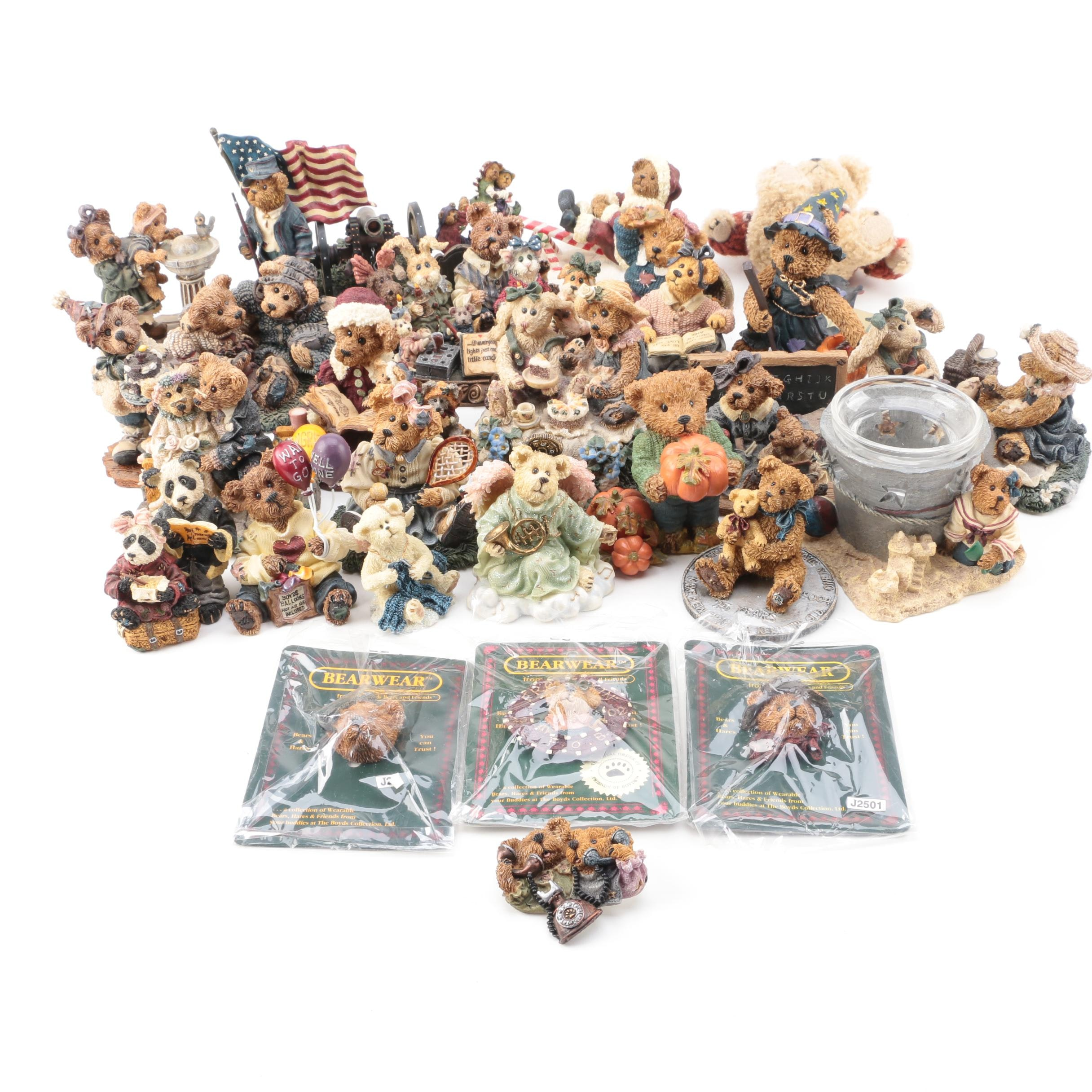 Boyd Bear Figurines and Accessories