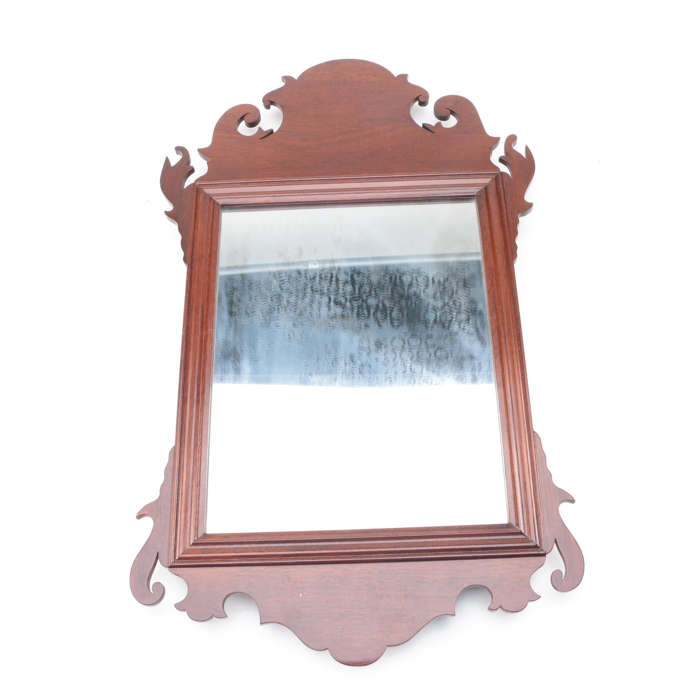Victorian Style Wood Framed Mirror