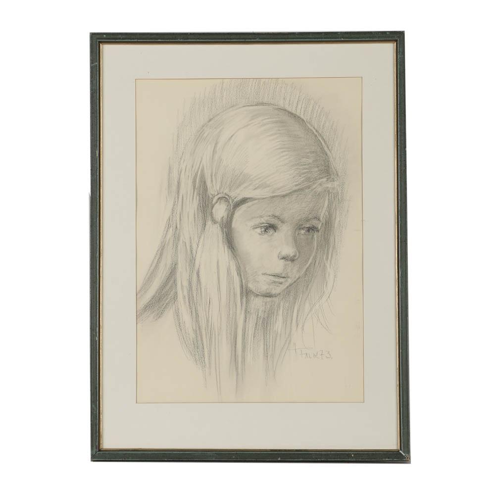 Falk Charcoal Drawing