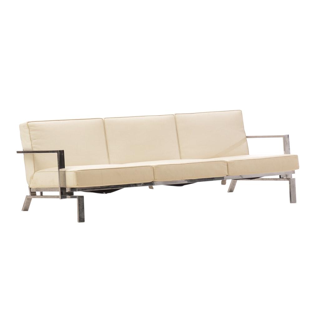 Modern White Sofa by Innovation