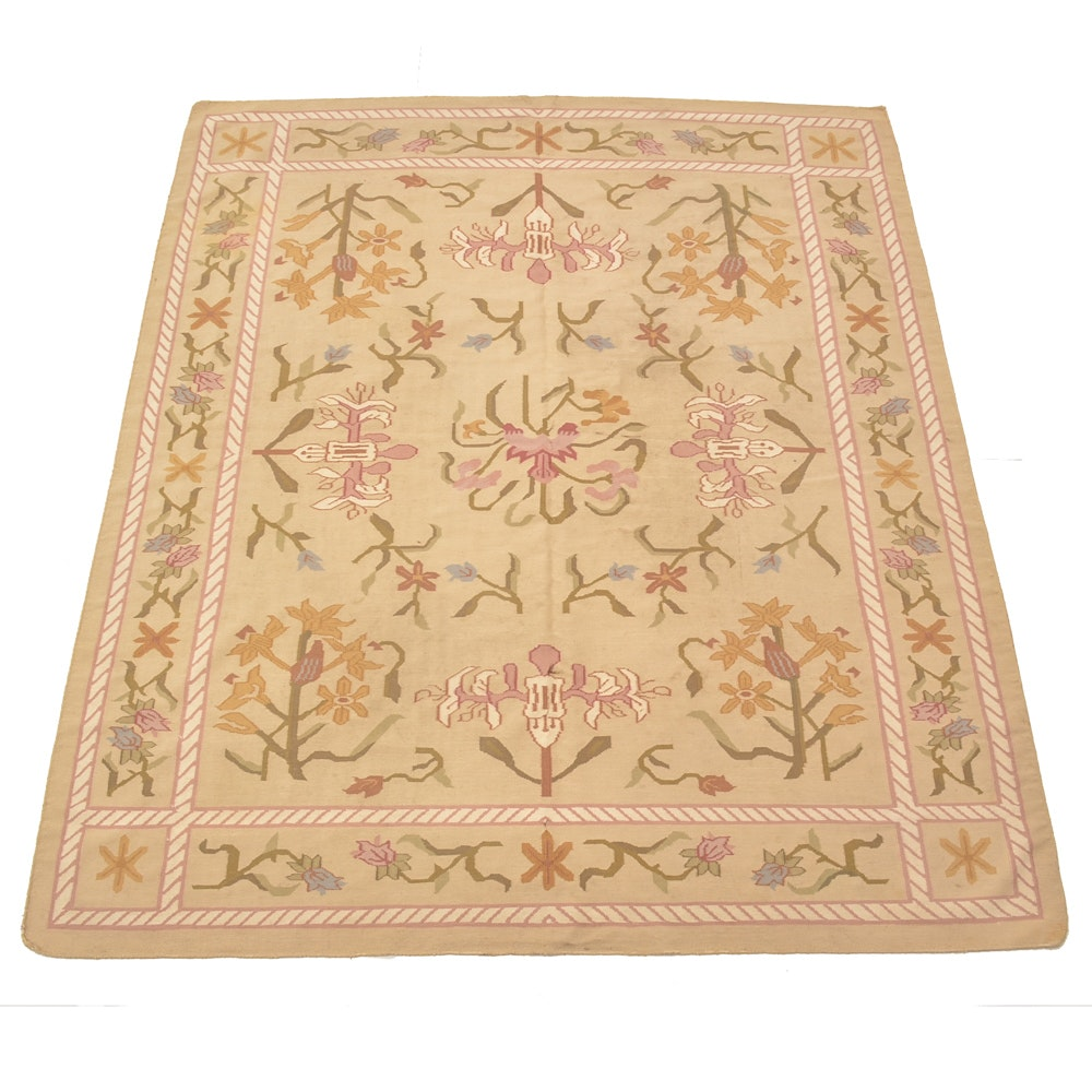 Floral Handwoven Area Rug