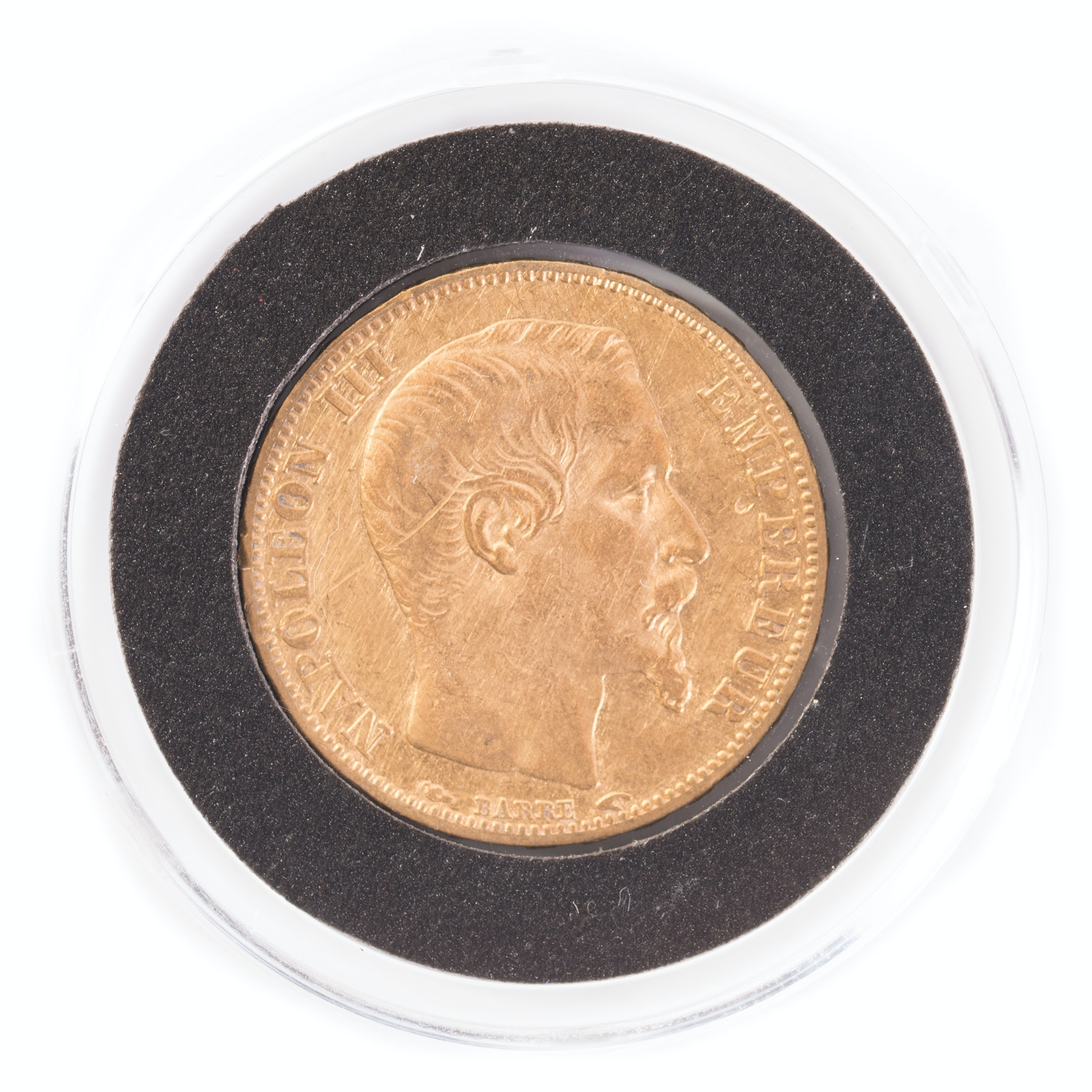 1853-A France 20 Francs Gold Coin