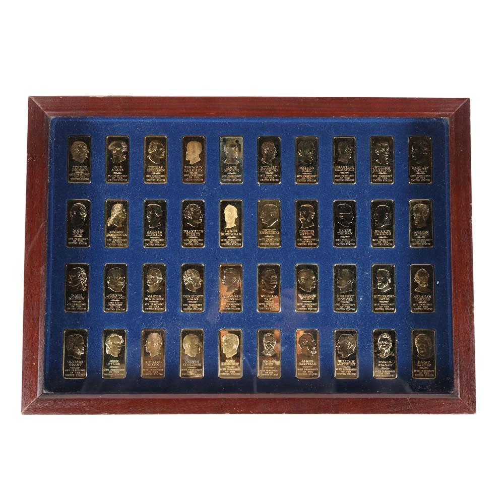 Danbury Mint Presidential Ingots