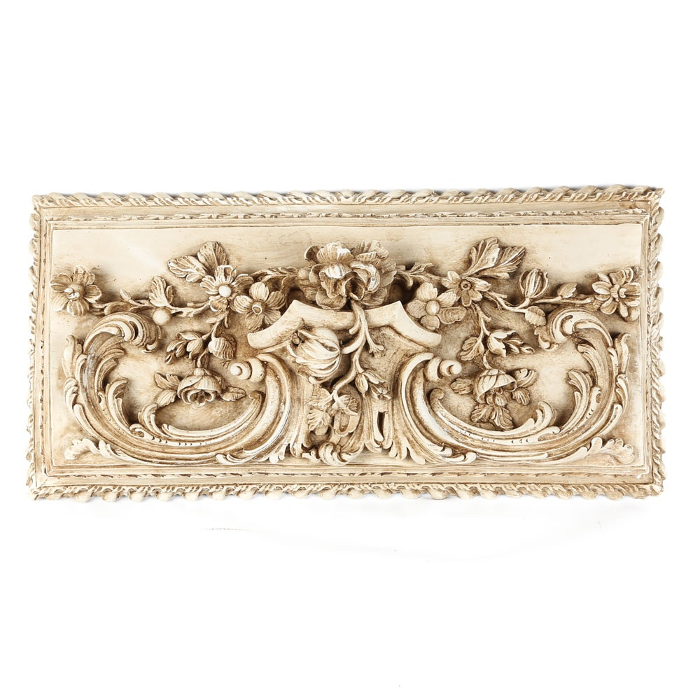 Floral Plaque by Architectural Accents