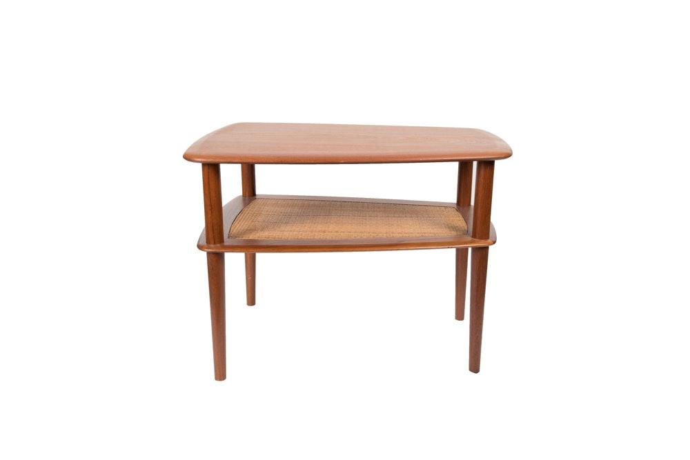 Danish modern end tables interesting retro end table for Mid century modern furniture orlando