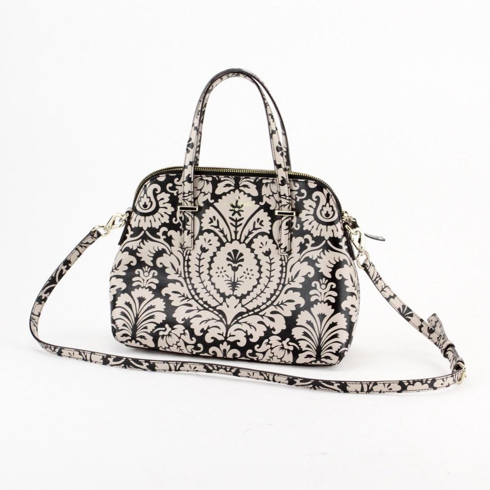 Kate Spade Cedar Street Floral Maise Damask Print Handbag
