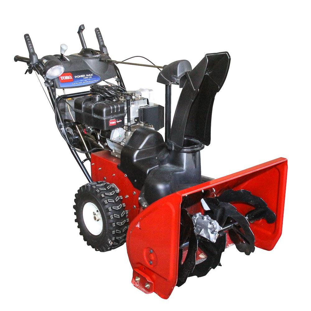 Toro Power Max 1028 LXE Snow Thrower