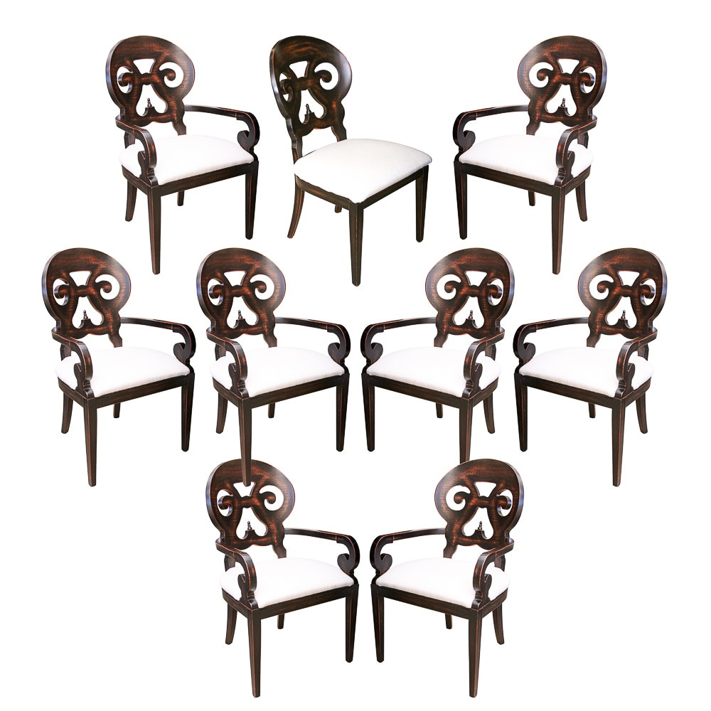 """Jordan"" Dining Chairs by Arhaus"
