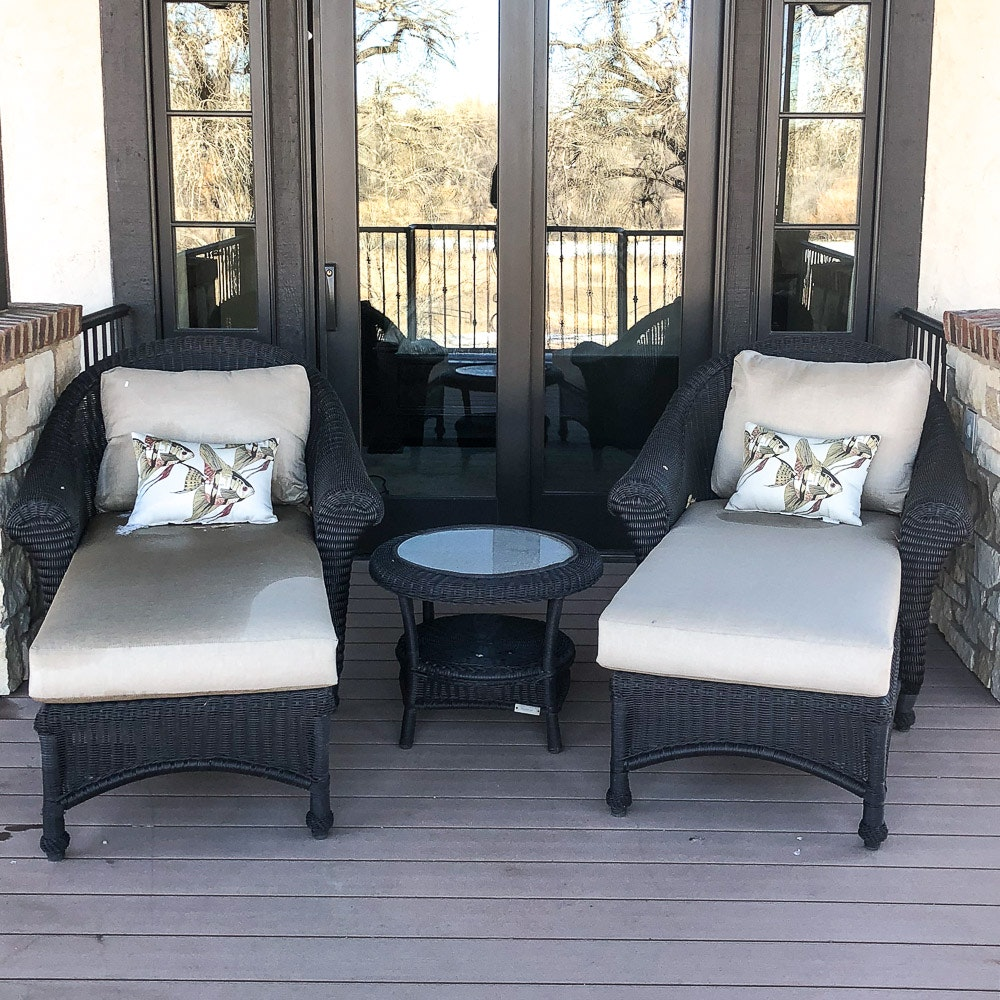 Restoration Hardware Wicker Patio Furniture