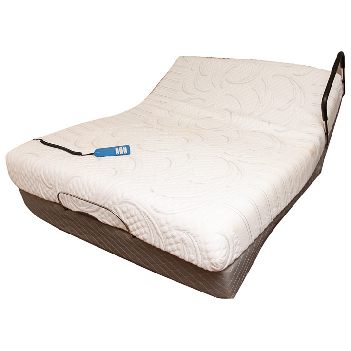 Queen Size Serta Adjustable Position Bed