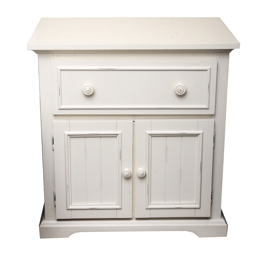 Contemporary Painted Nightstand