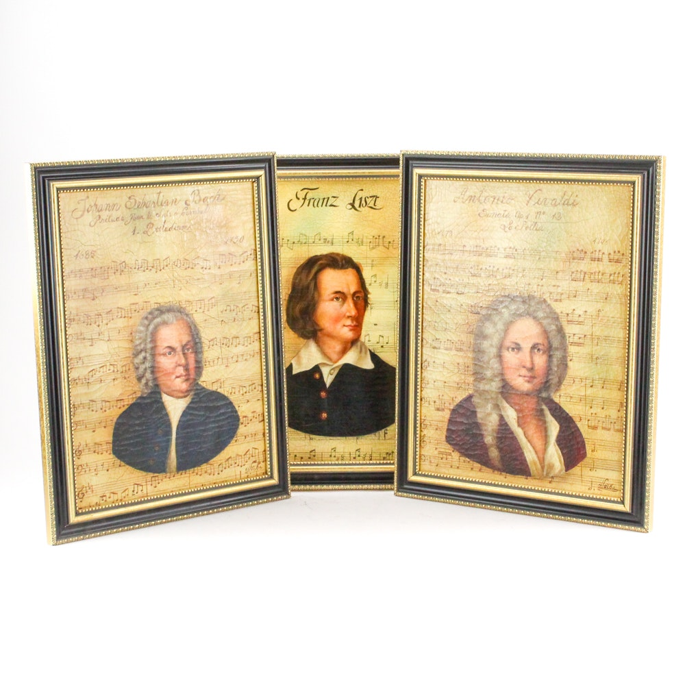 Norka Urde Oil Portraits of Composers