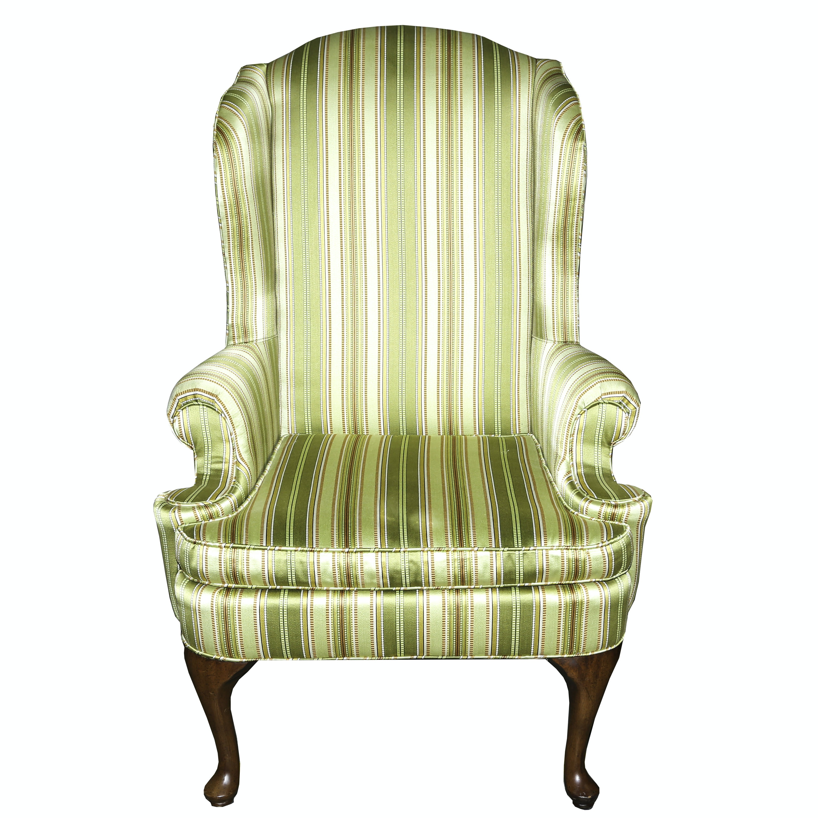 Cherry Wingback Chair