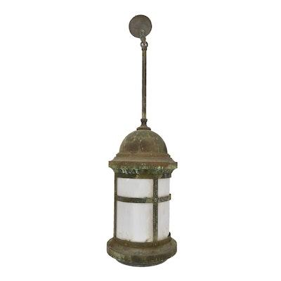 Vintage outdoor lighting used exterior lighting fixtures ebth vintage outdoor lantern pendant light workwithnaturefo