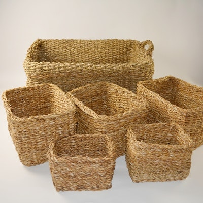 Raffia Basket Collection