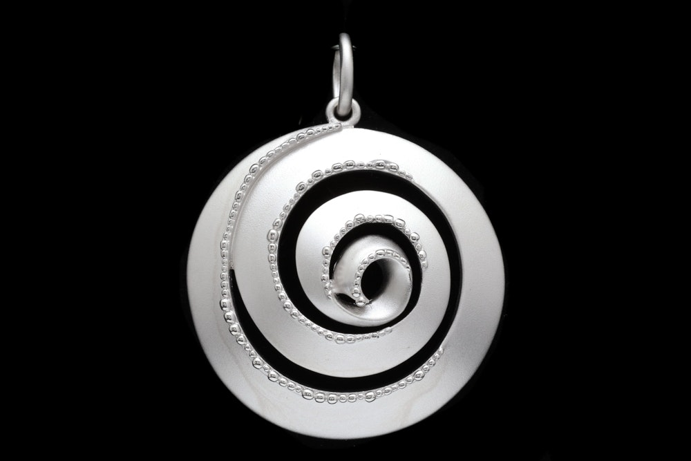 Bastian Sterling Silver Pendant