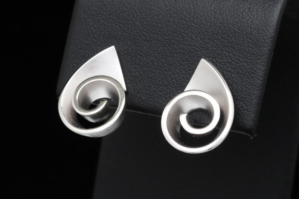 Bastian Sterling Silver Earrings
