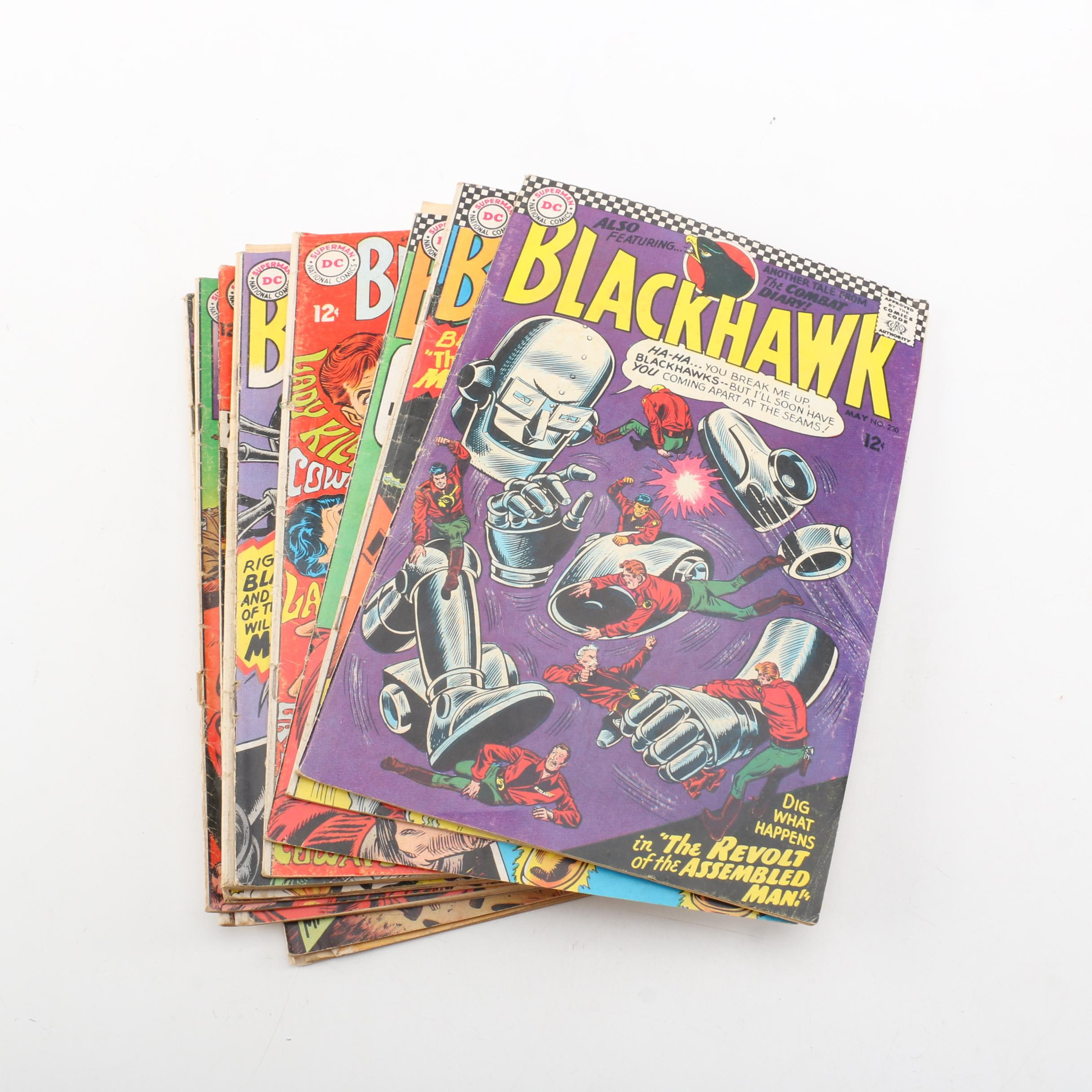 "Silver Age DC ""Blackhawk"" Comic Books"