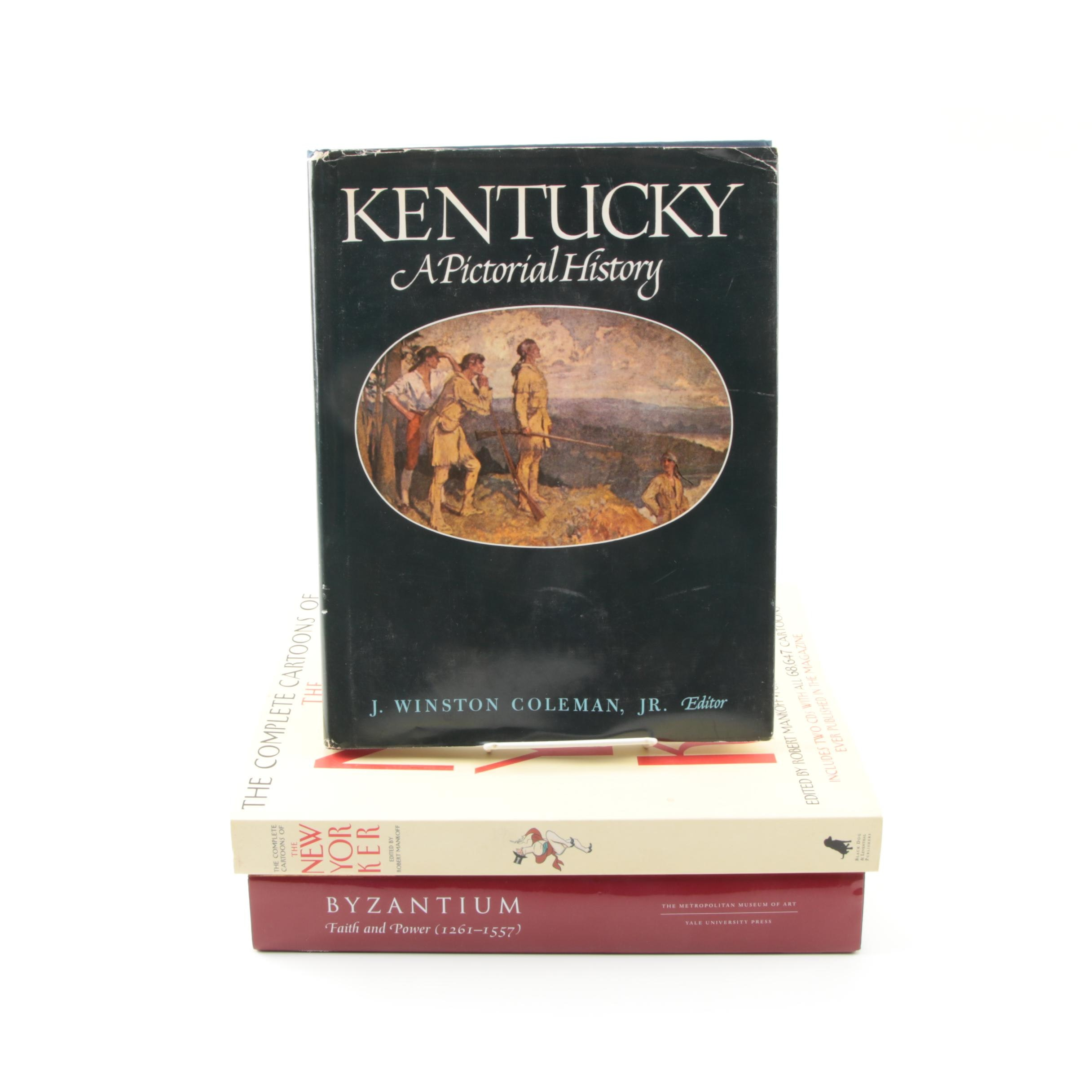"""Assorted Books Including 1971 """"Kentucky: A Pictorial History"""""""