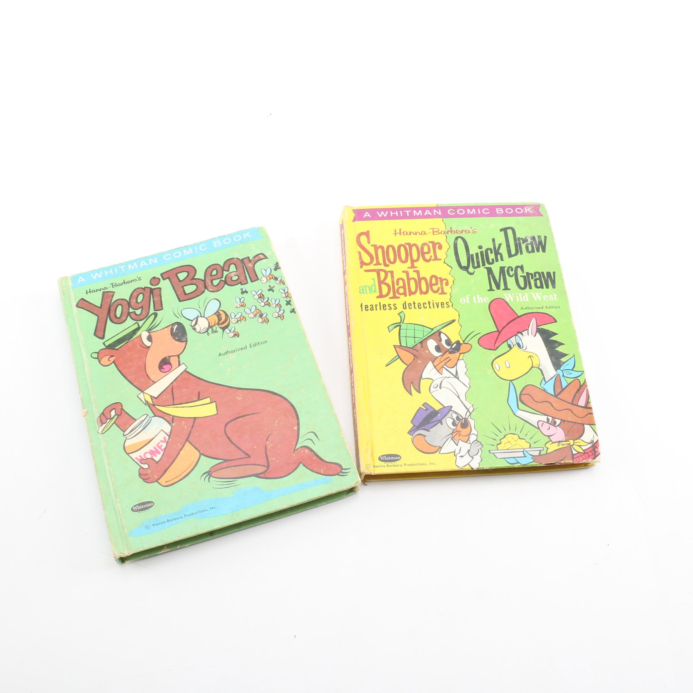 Whitman Hanna Barbera Comic Compilations