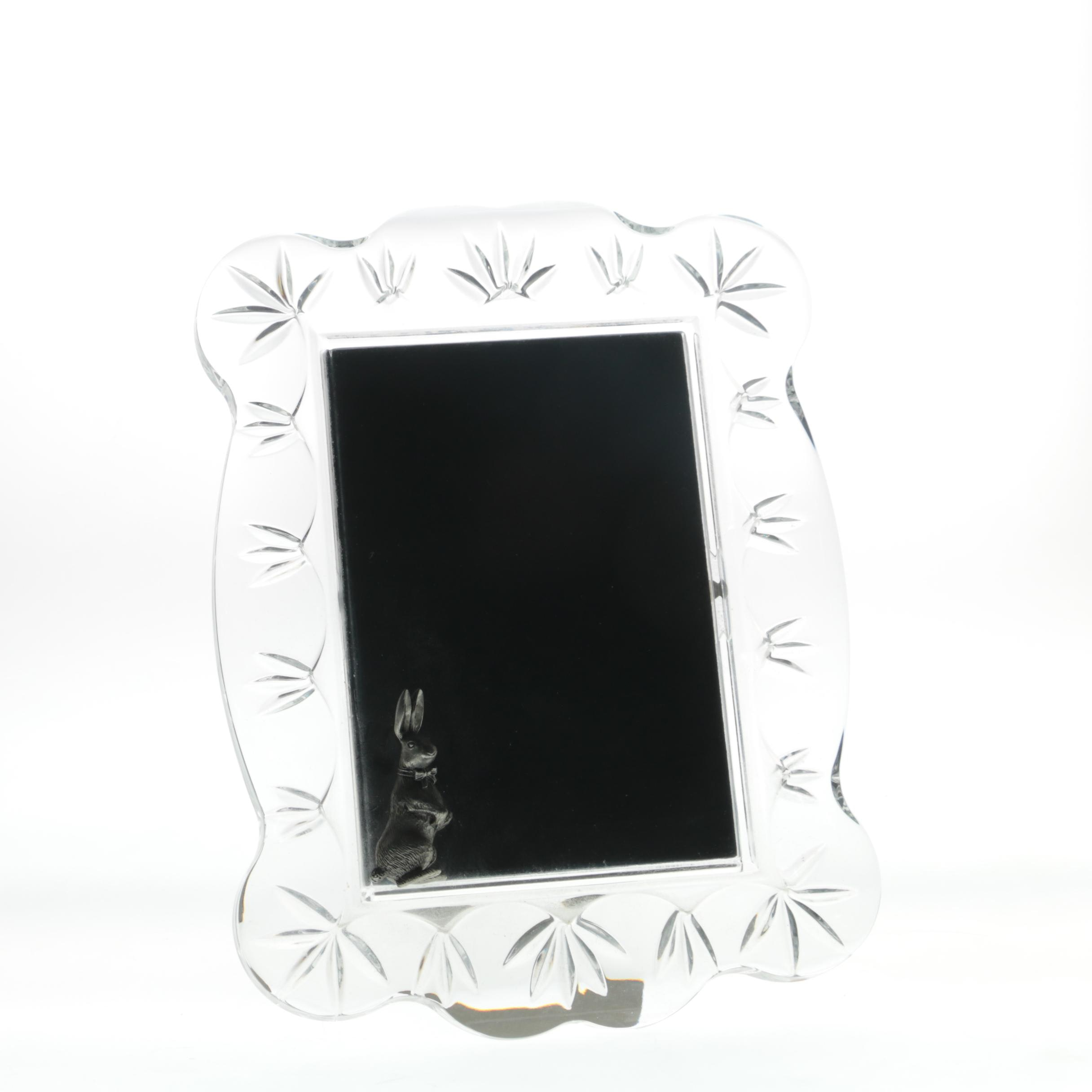 "Waterford Crystal ""Velveteen Rabbit"" Picture Frame"