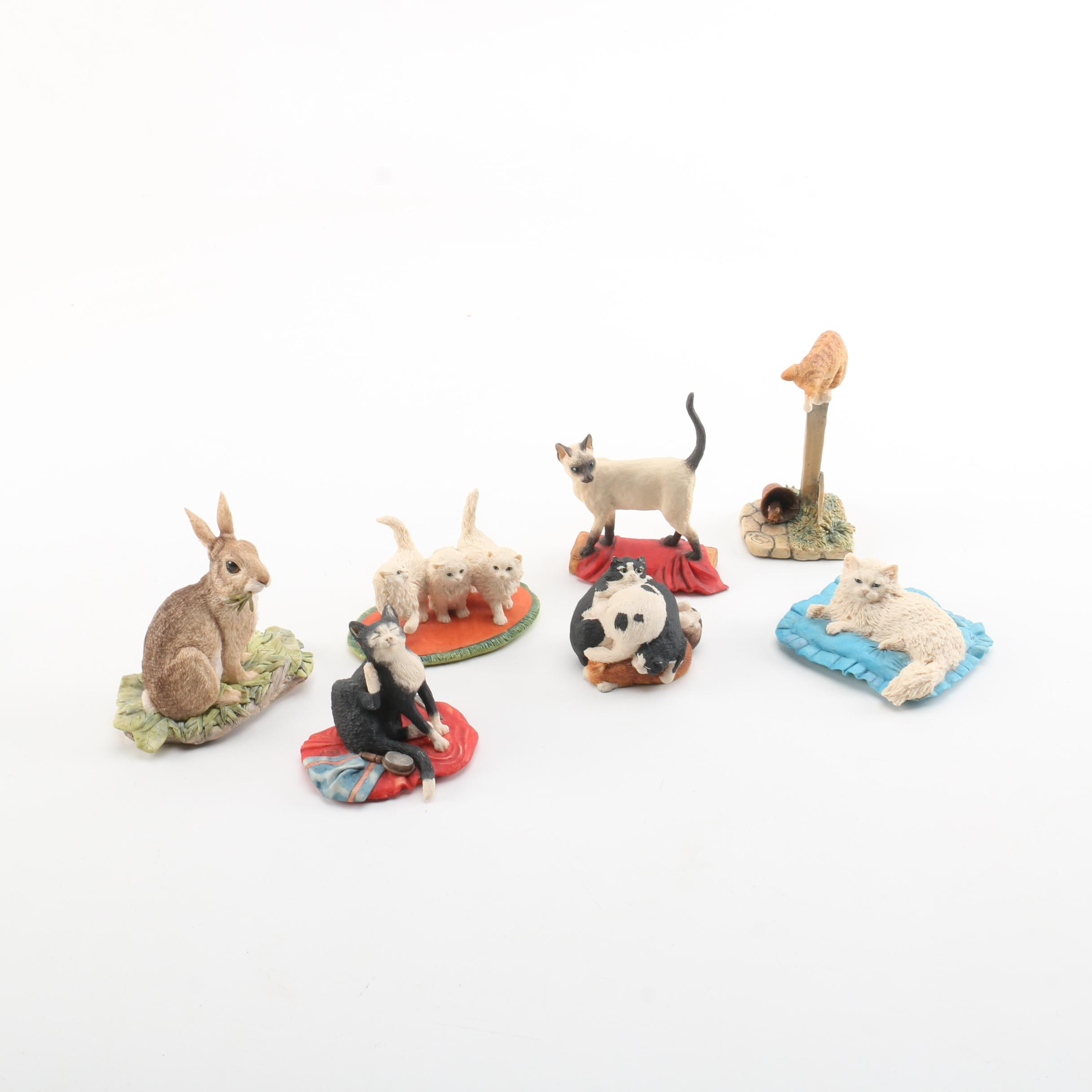 Collection of Border Fine Arts Animal Figurines