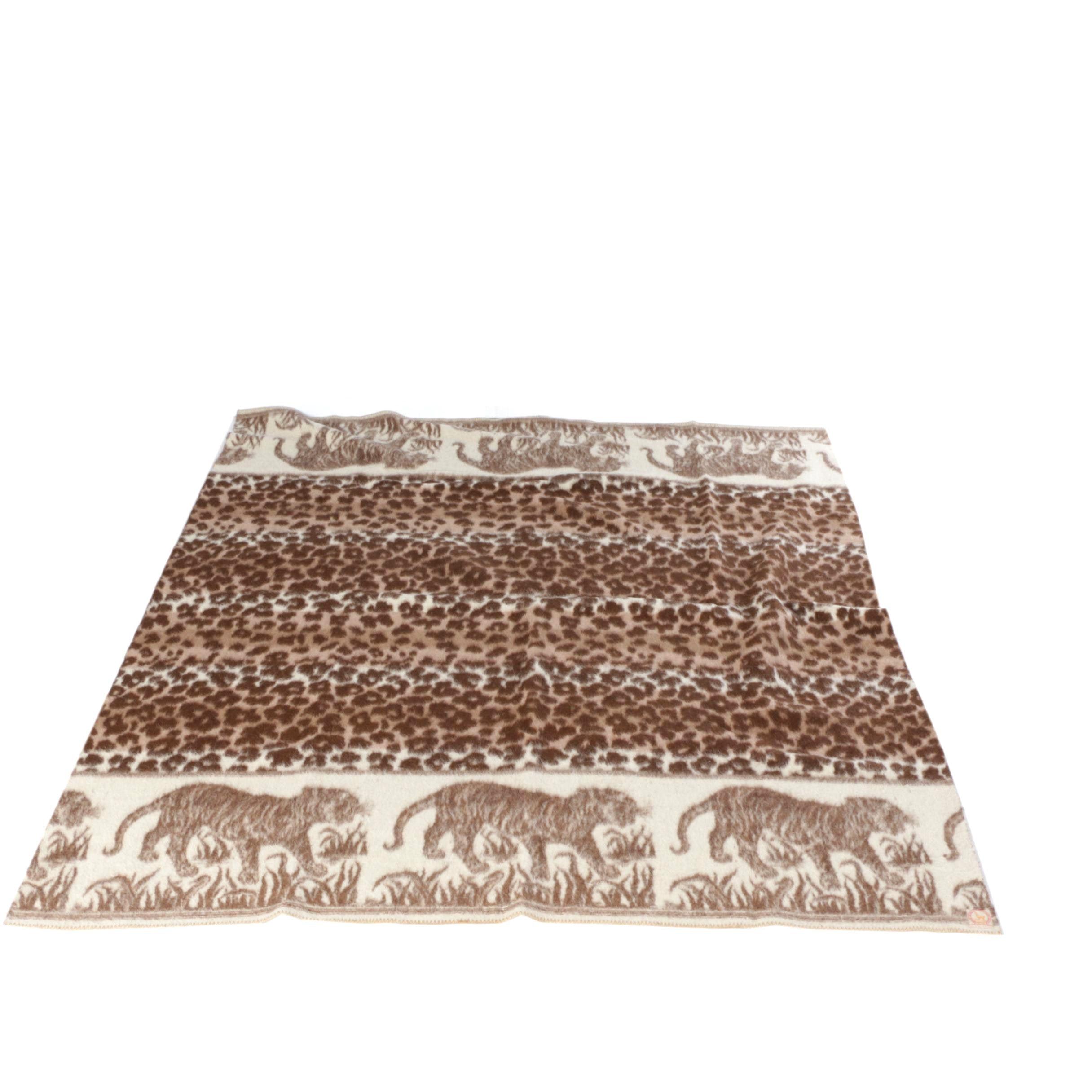 Peruvian Alpaca Wool Blanket