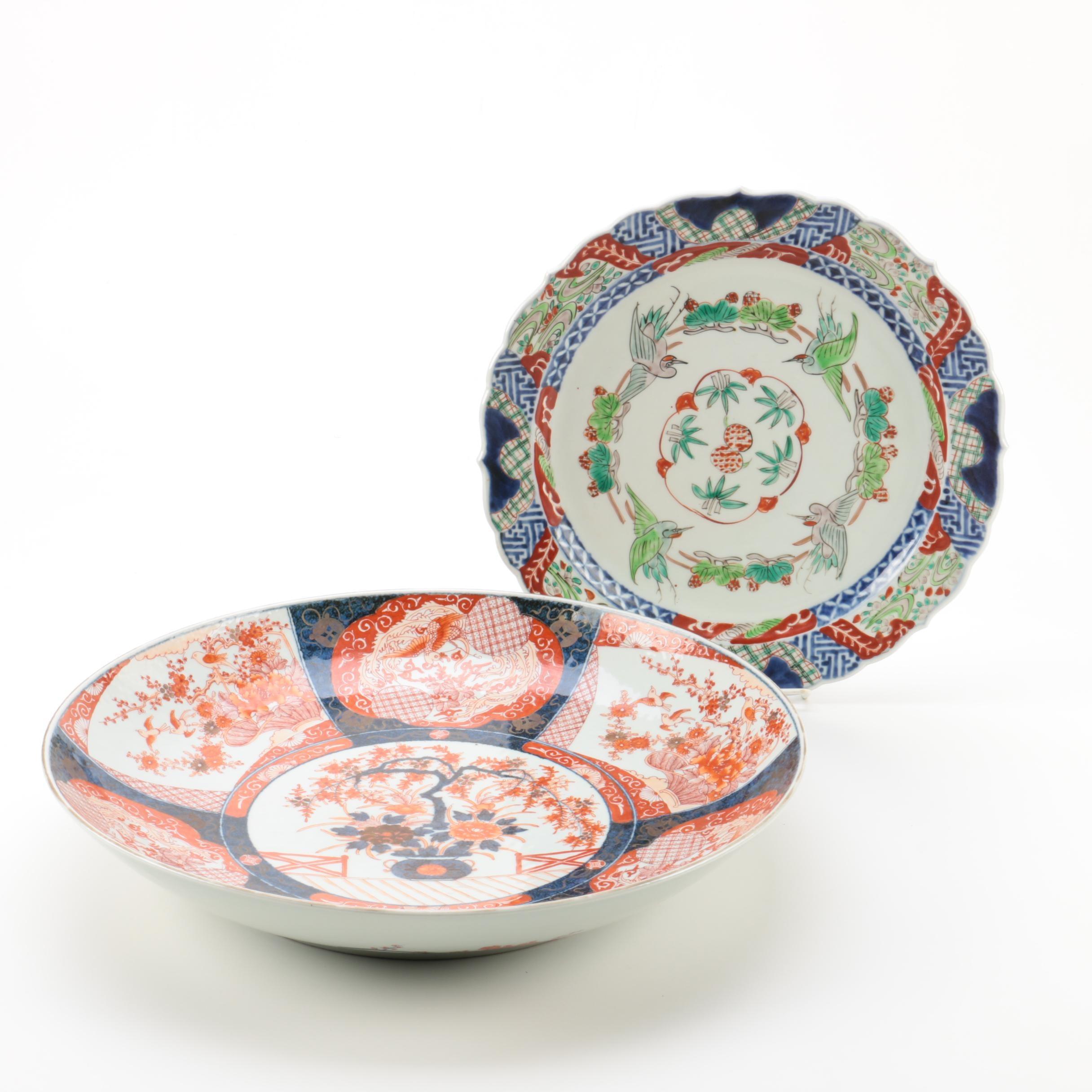 Japanese Imari Style Bowls