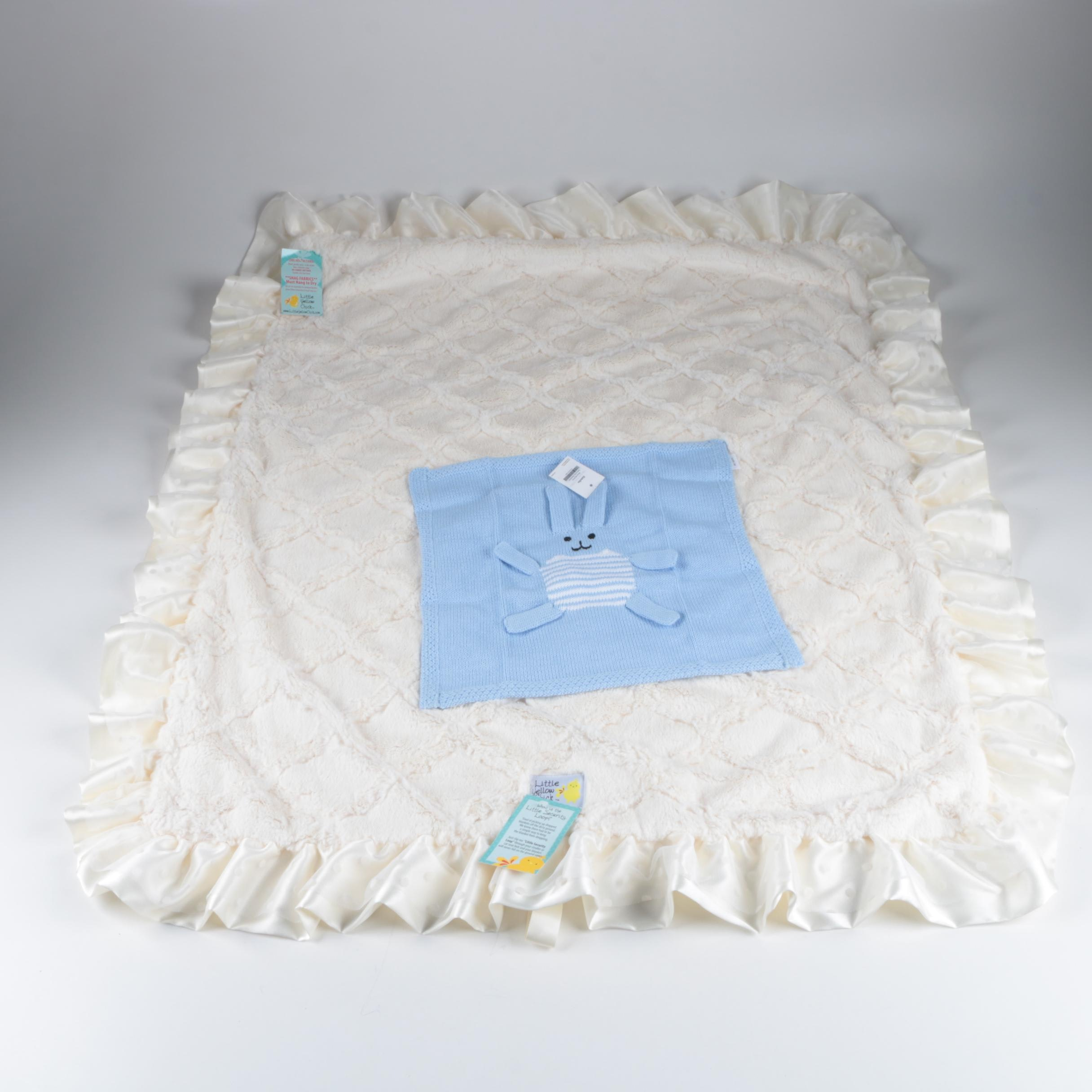 Little Yellow Chick and Estella Baby Blankets