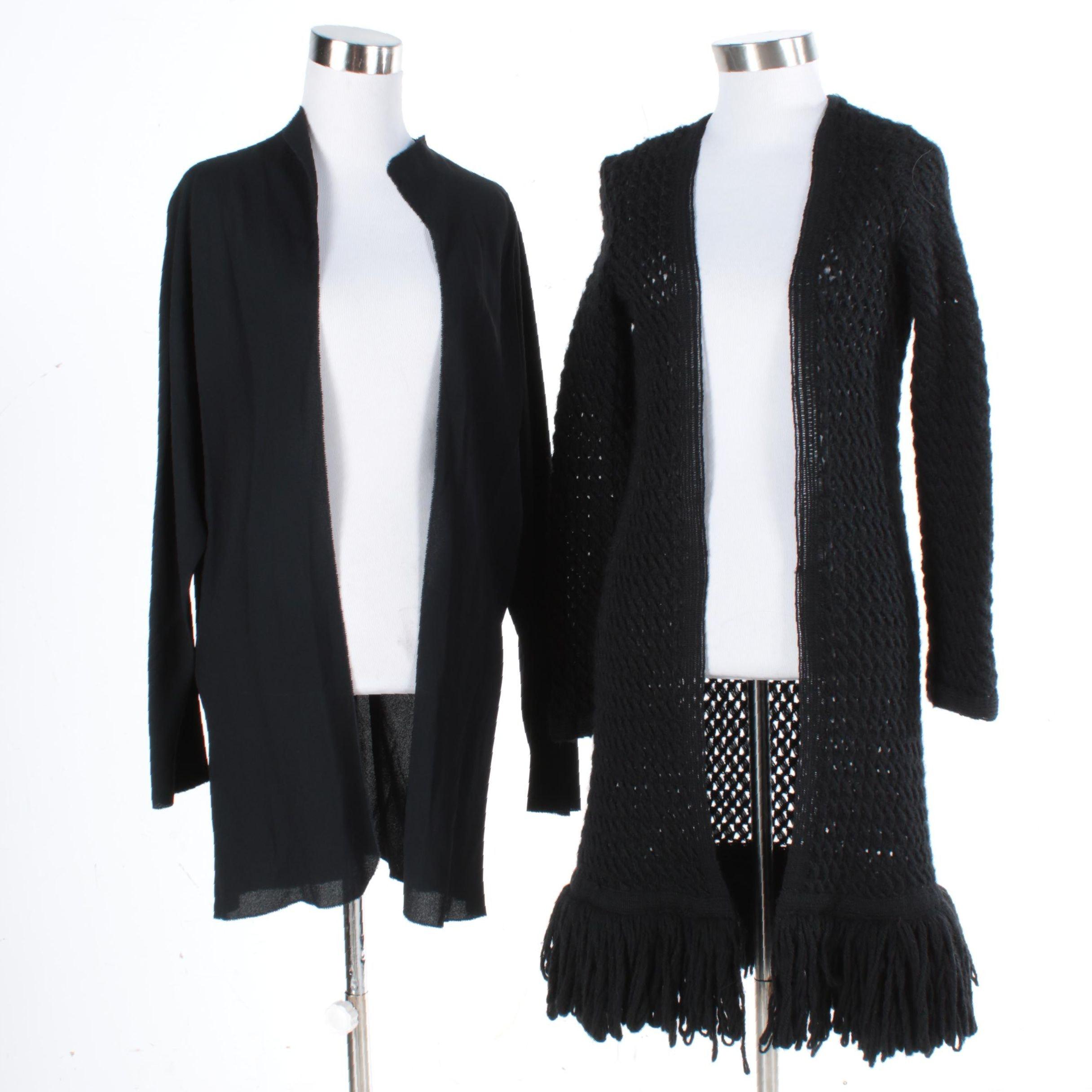 Women's Sweater Coats Including 1974 Jackie Rogers Crochet Coat
