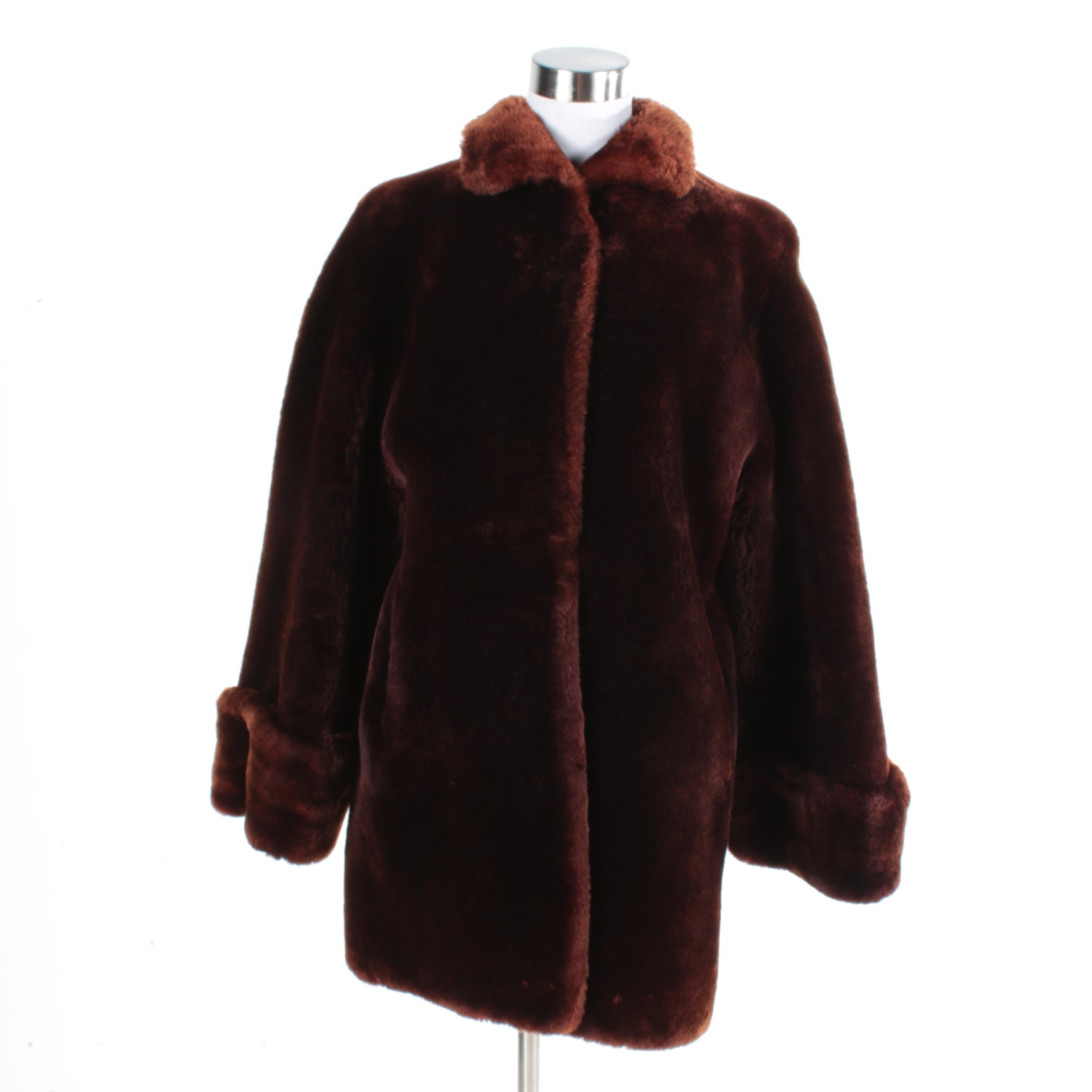 Women's Vintage Gimbel Brothers Mouton Fur Coat