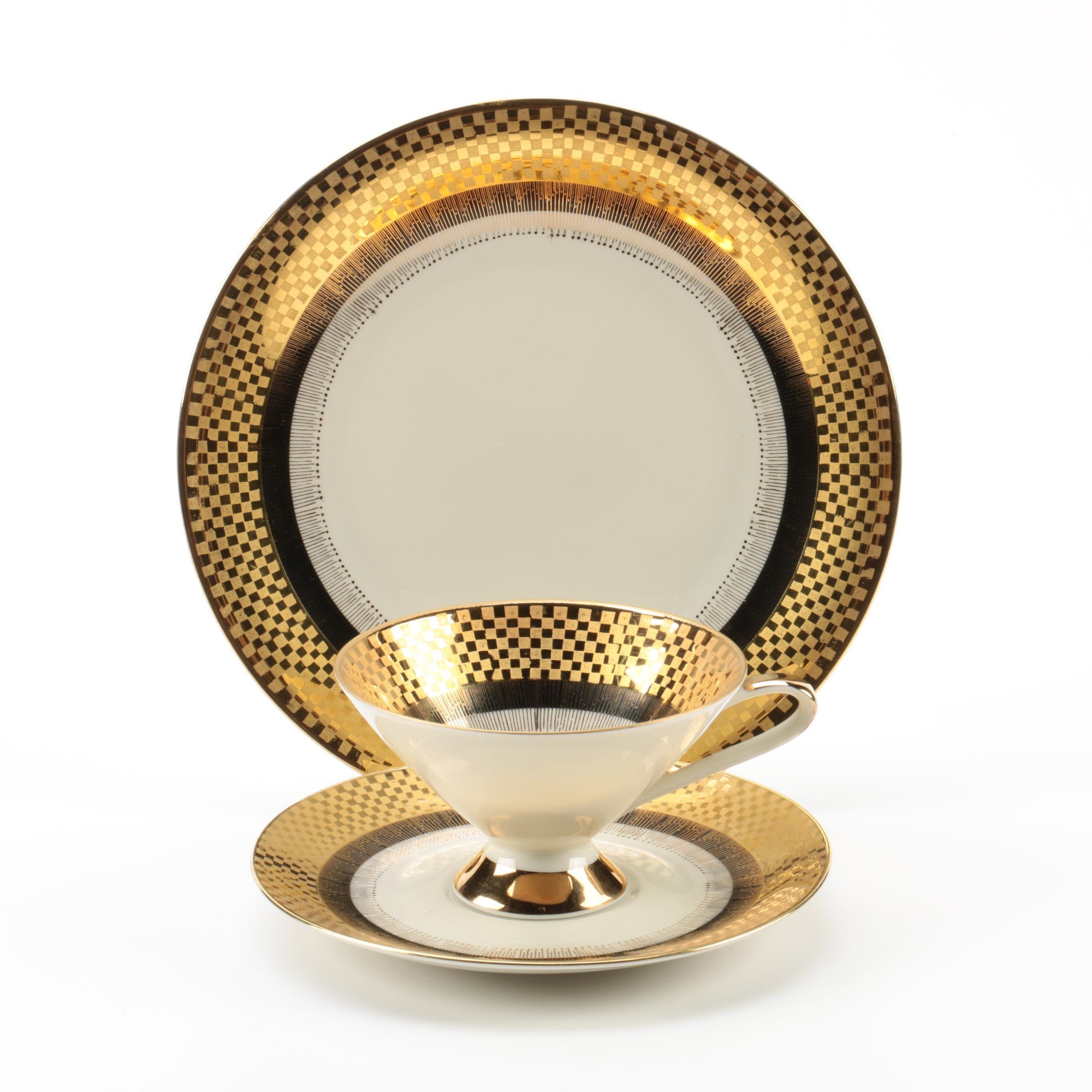 1935-50 Art Deco Style Bavarian Porcelain Tableware ...  sc 1 st  EBTH.com & 1935-50 Art Deco Style Bavarian Porcelain Tableware : EBTH