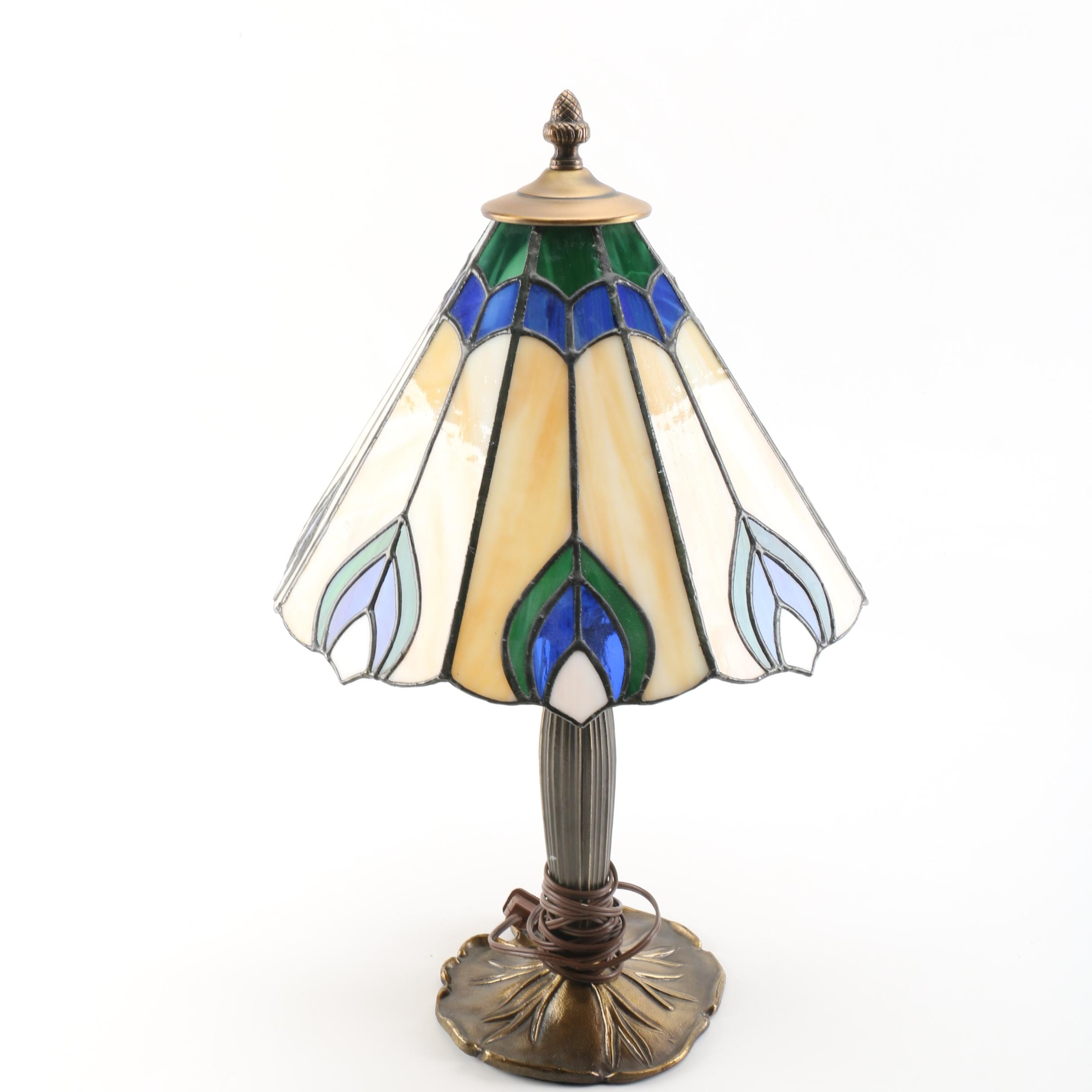 Tiffany Style Accent Lamp with Shade