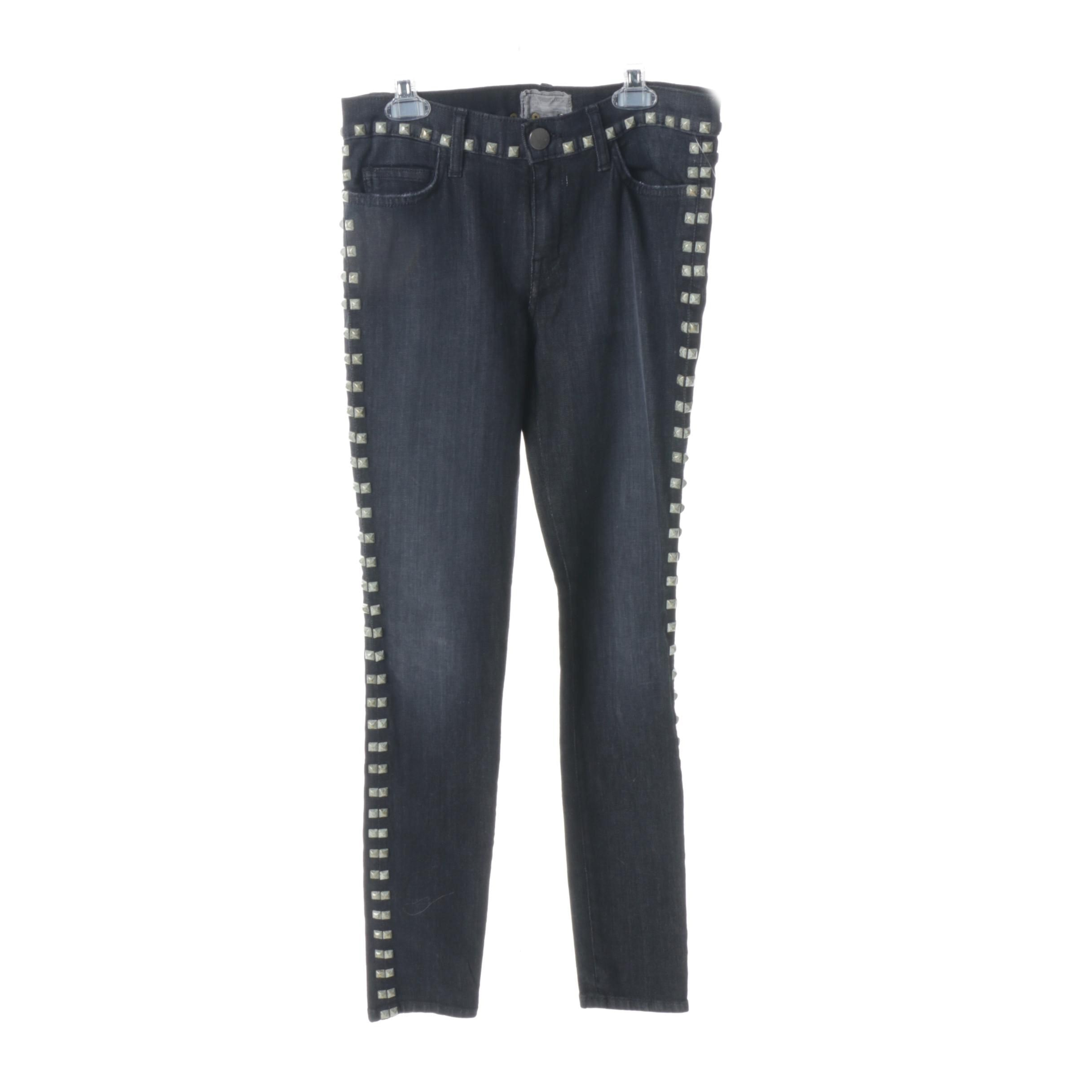 Women's Current/Elliott Jeans with Studded Trim