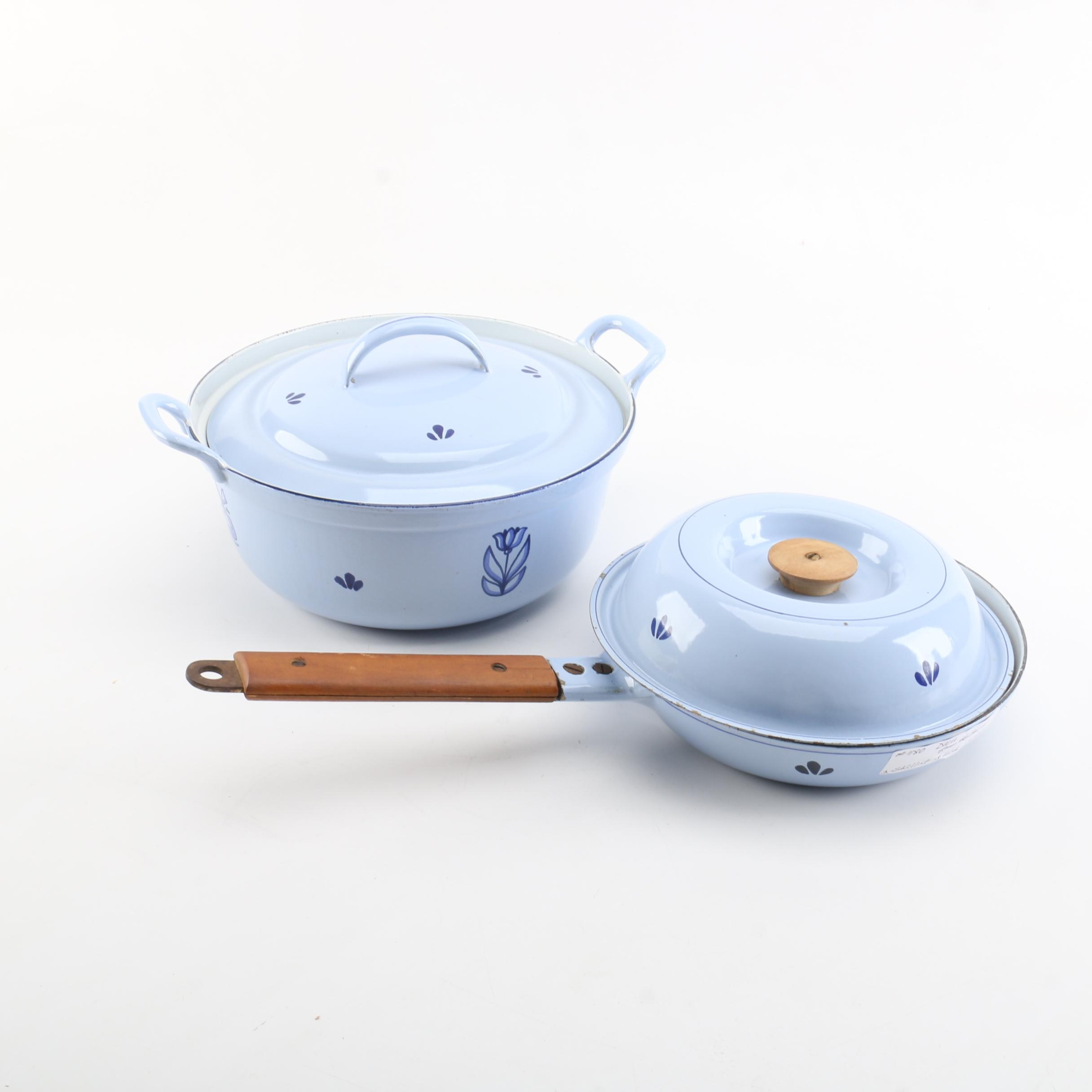 DRU Holland Enameled Cast Iron Cookware