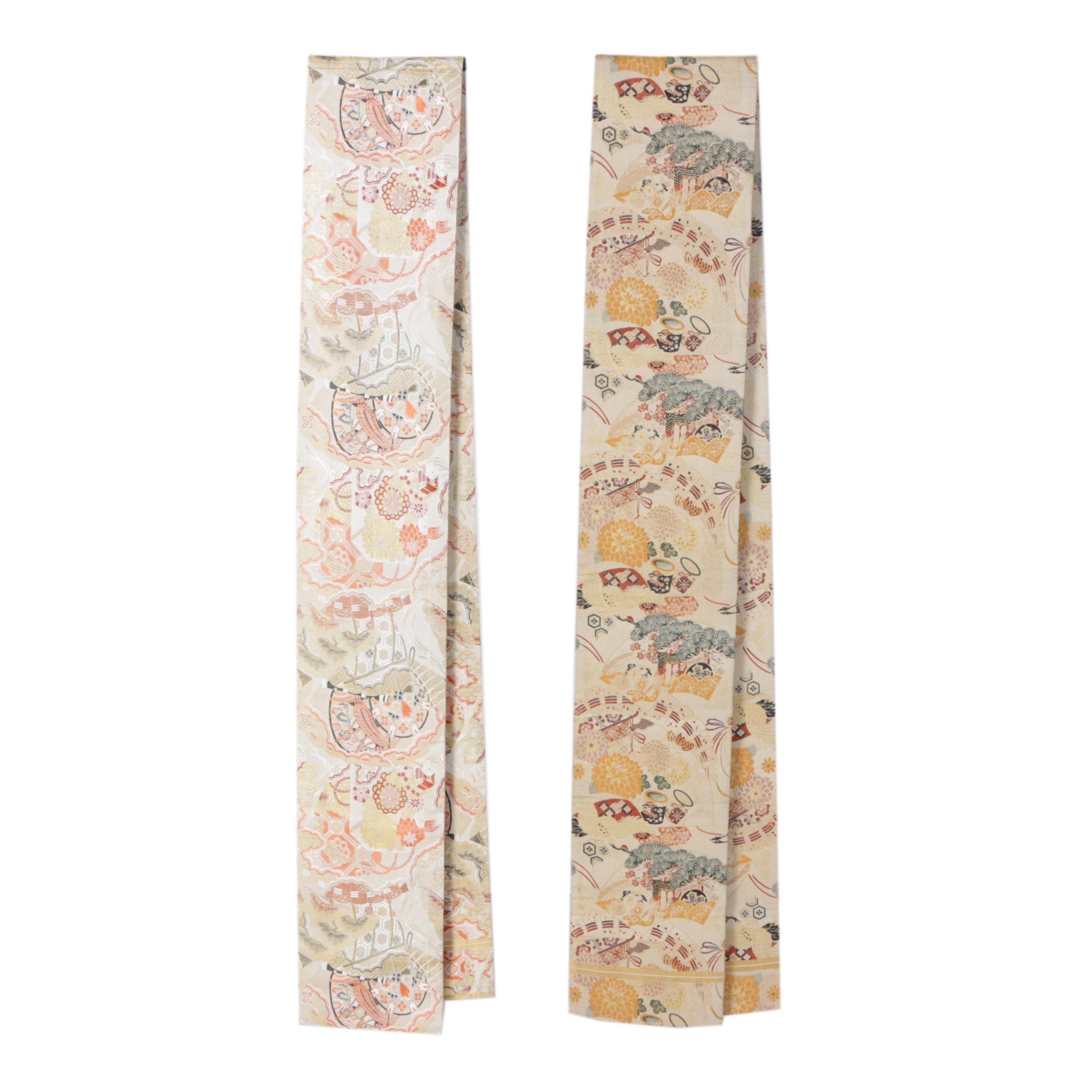 Vintage Japanese Silk Brocade Obis