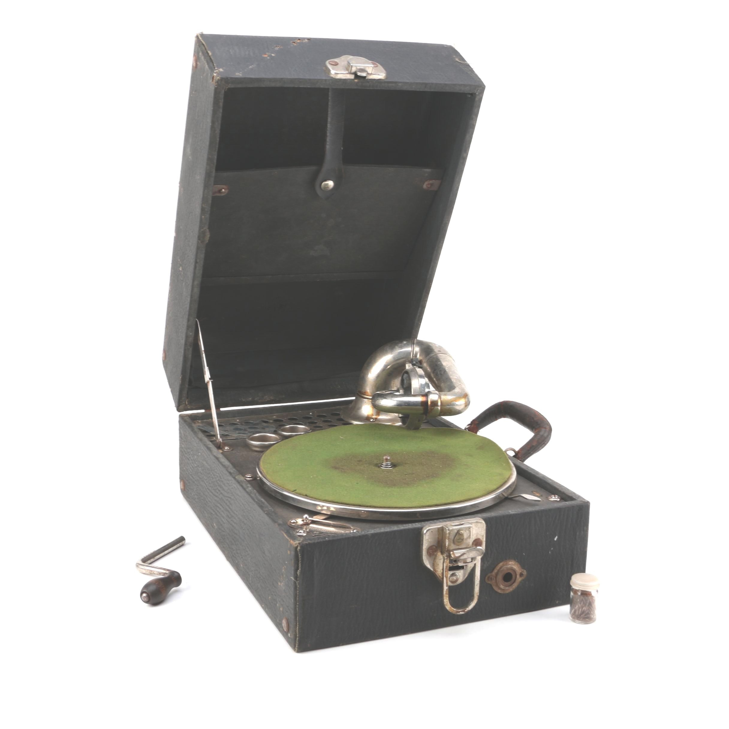 Vintage Caswell Manufacturing Co. GranTone Phonograph Player