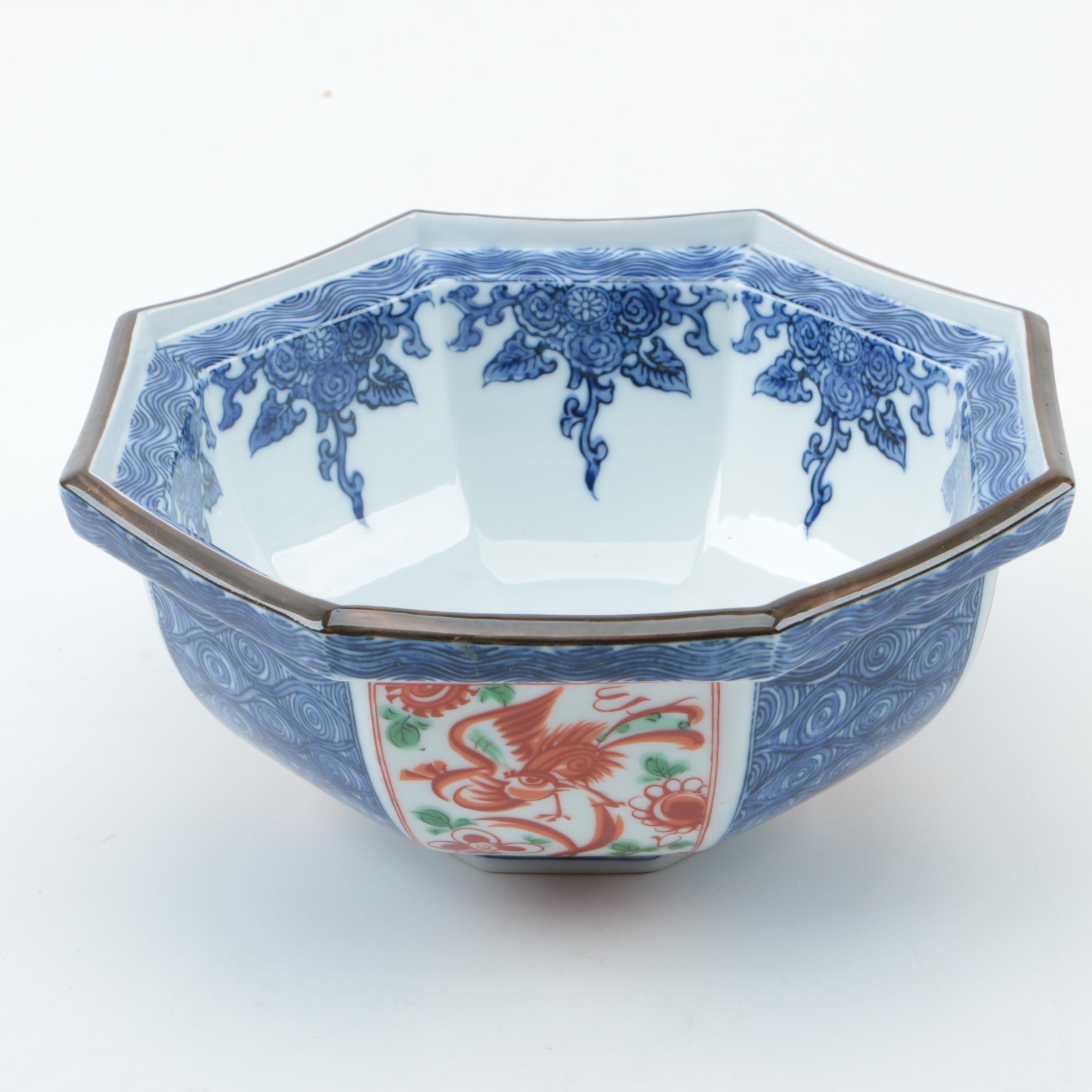 Japanese Decorative Porcelain Bowl