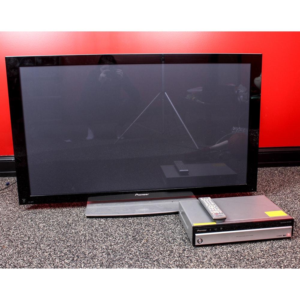 "Pioneer 50"" Plasma Television with Media Receiver"