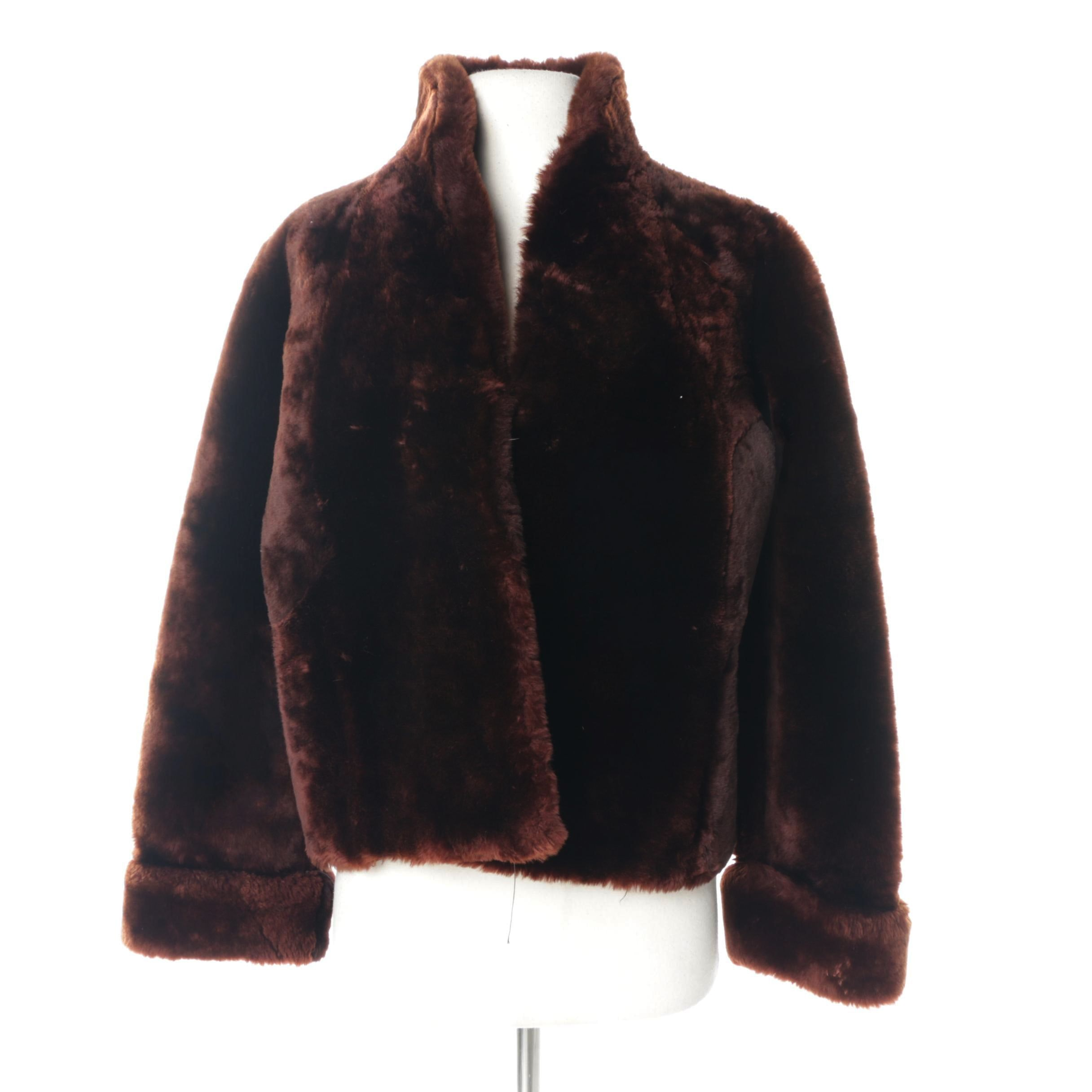 Women's Vintage Gus Mayer Mouton Fur Coat