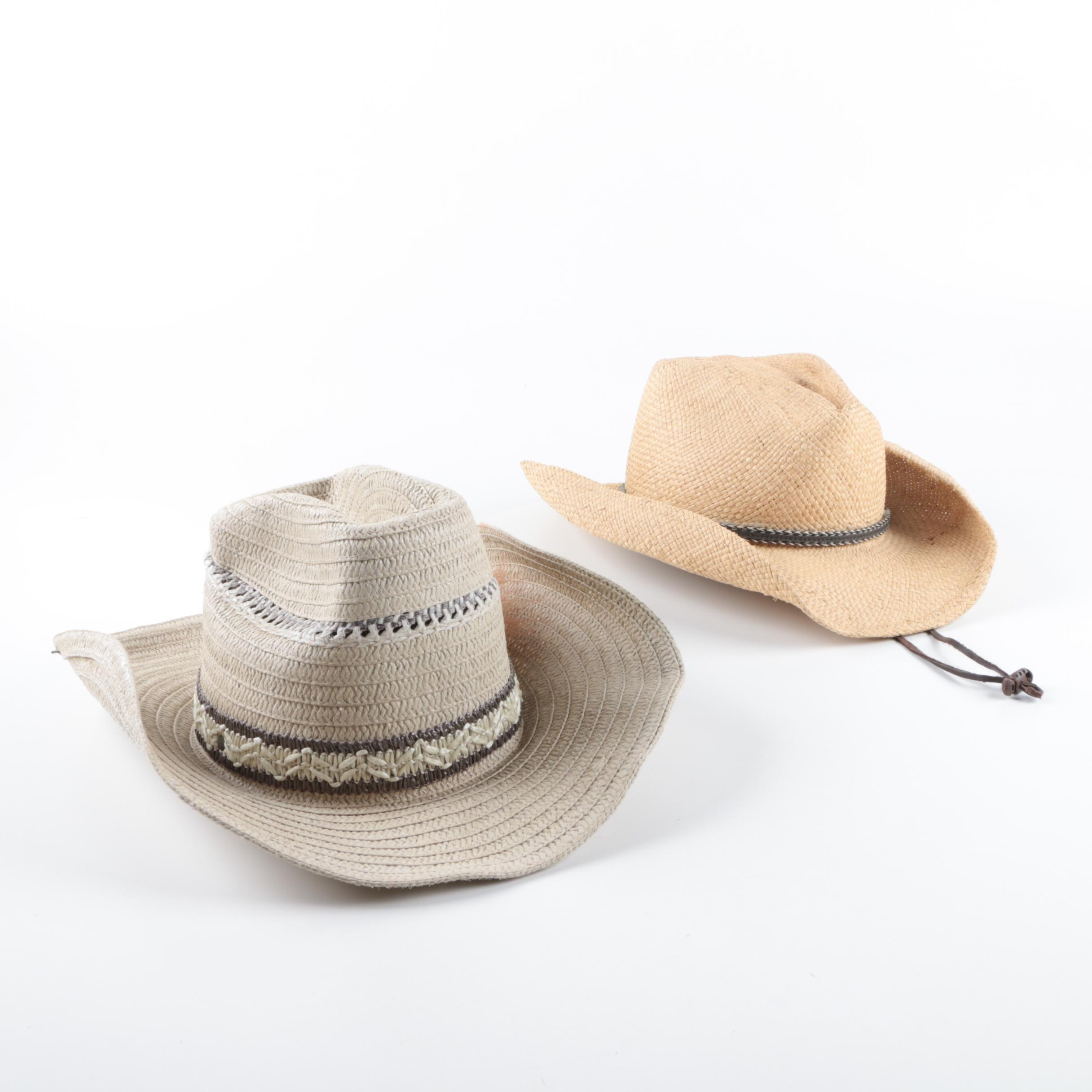 Woven Rancher Hats Including Bullhide