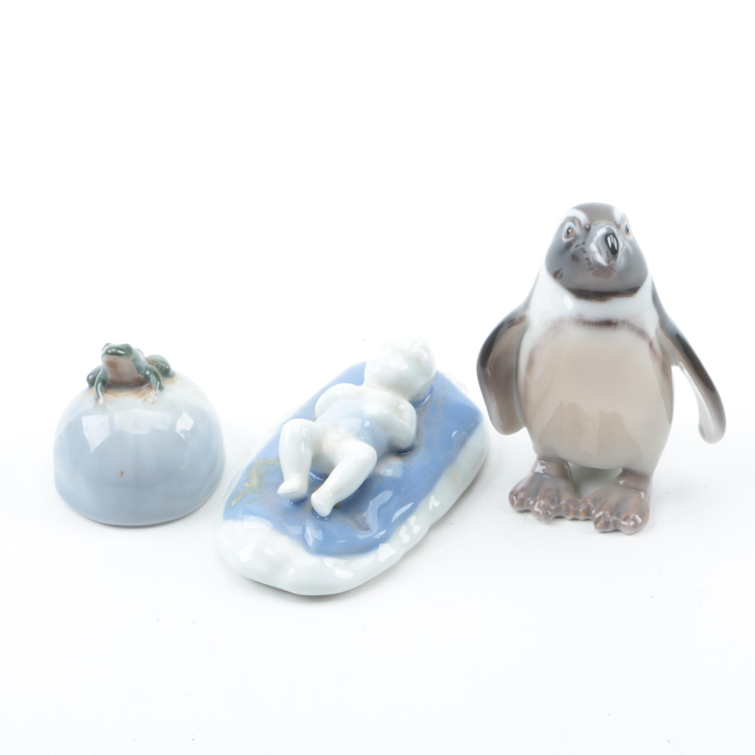 Miniature Porcelain Figurines Featuring Bing & Grøndahlbing