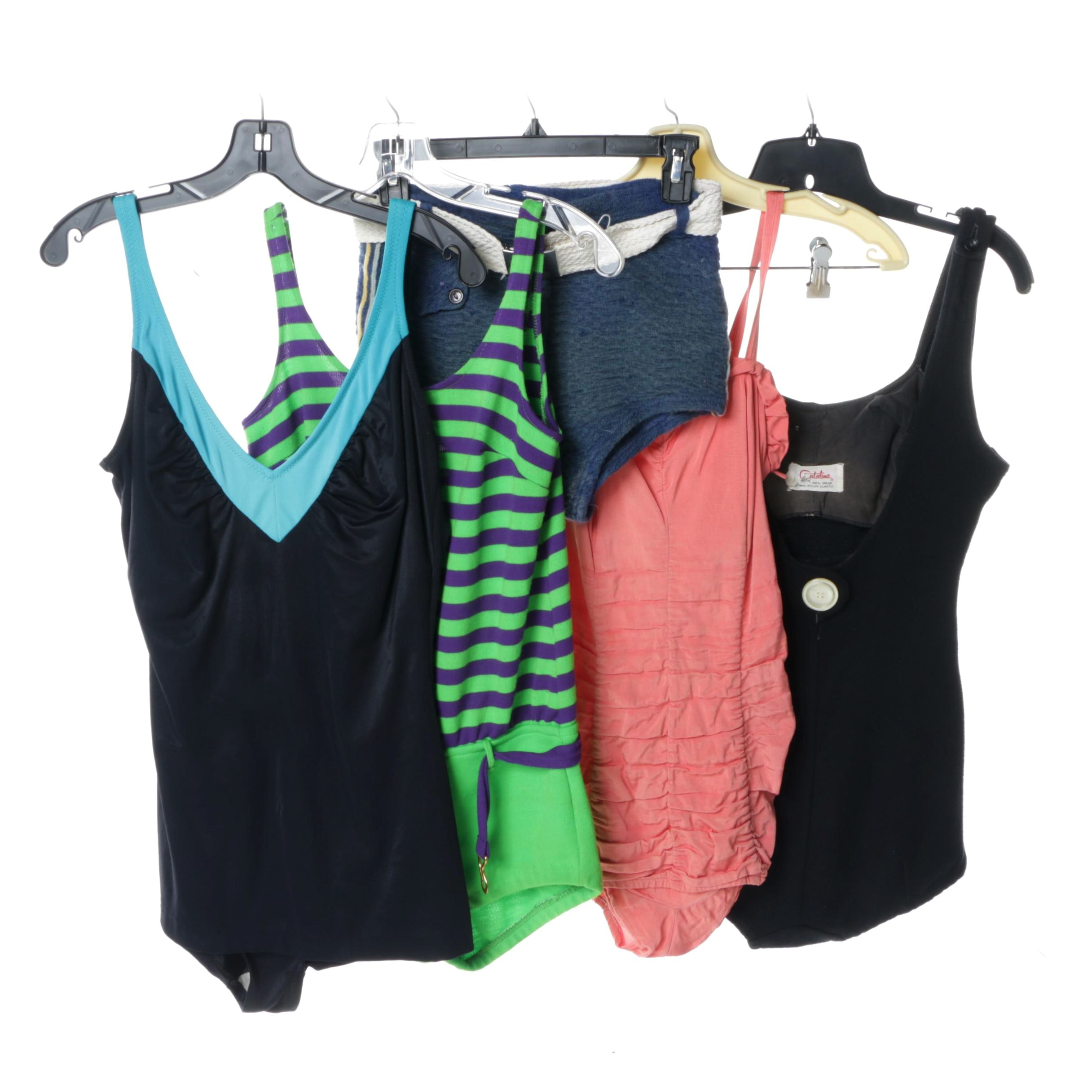 Women's Vintage Swimsuits Including Catalina