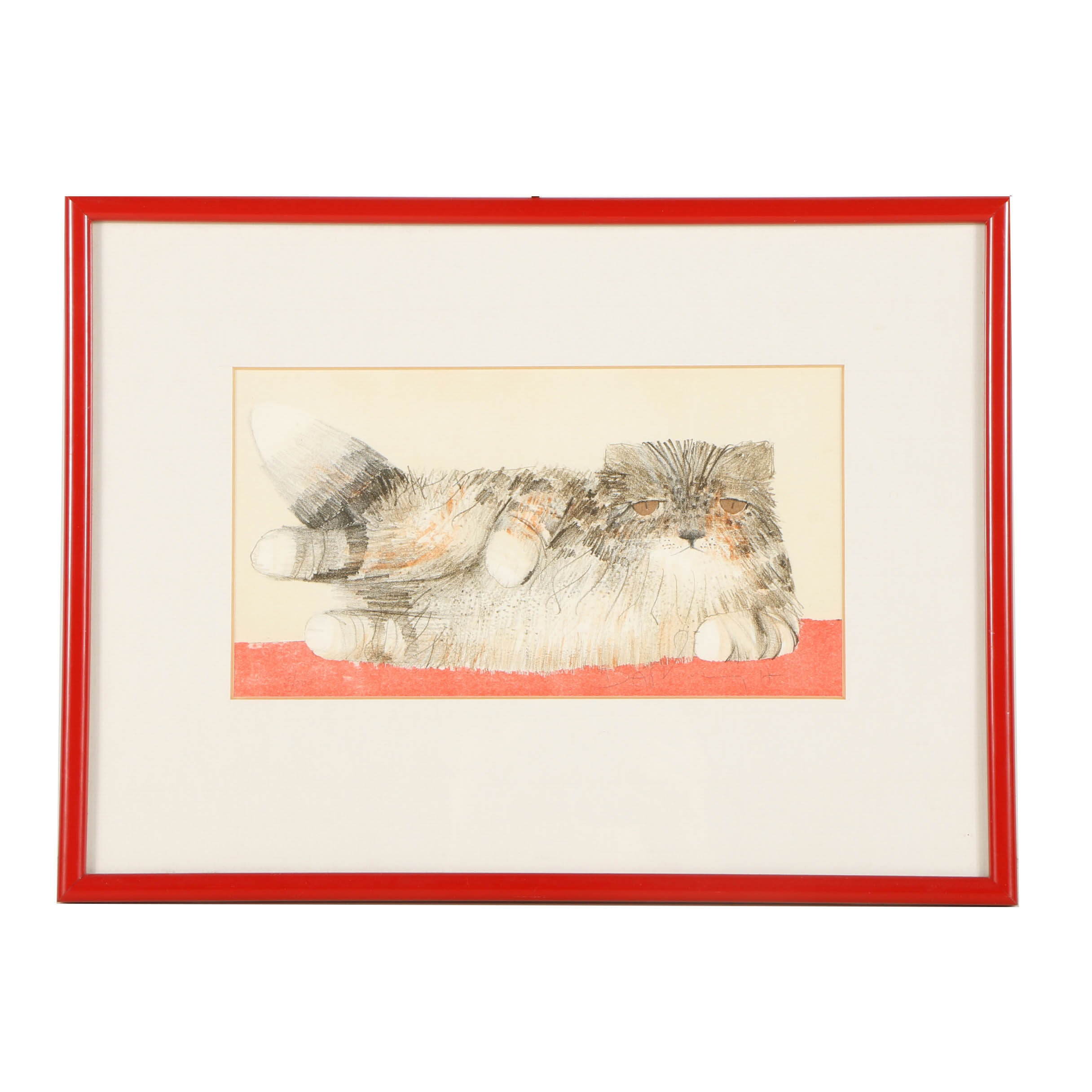Limited Edition Embellished Lithograph