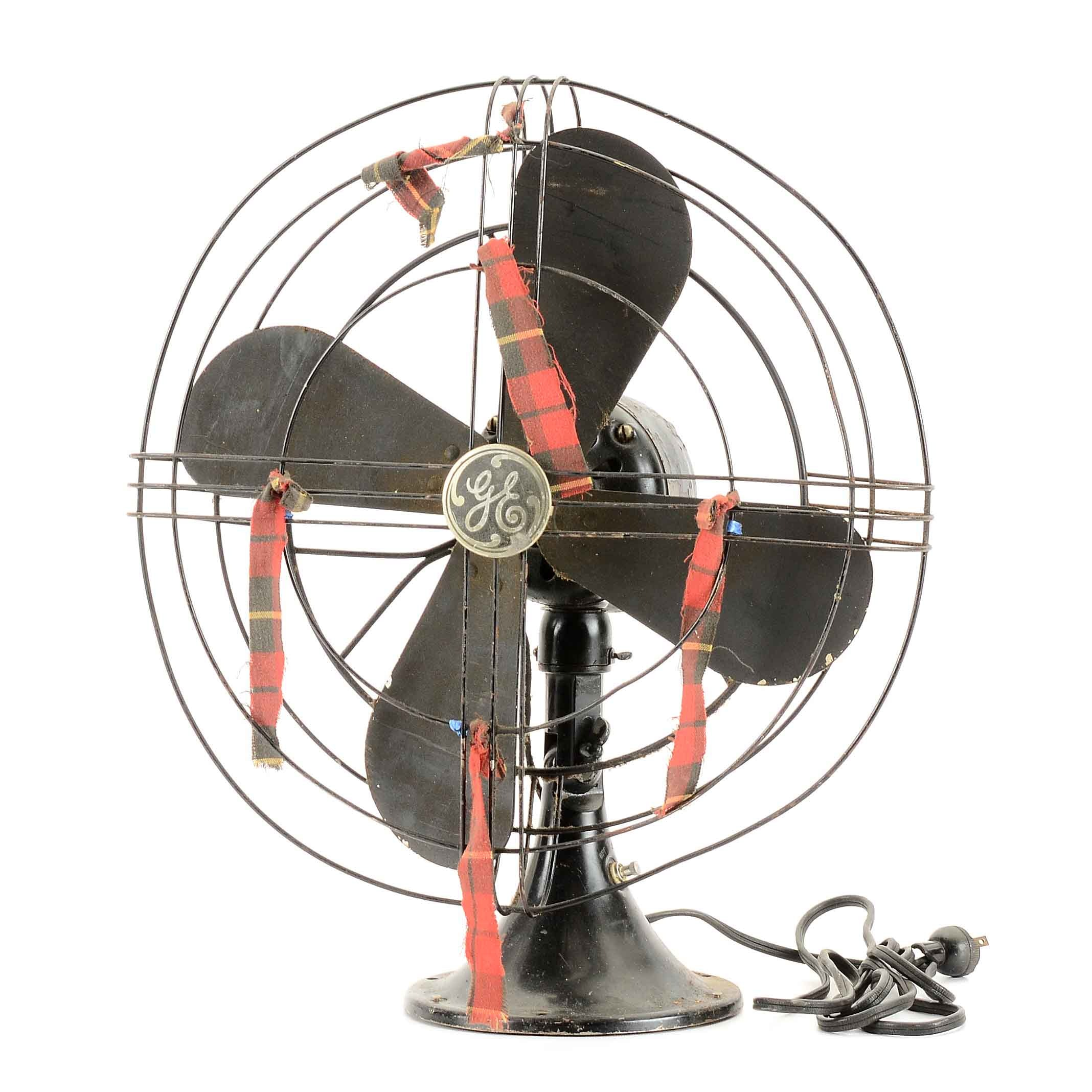 Vintage General Electric Fan