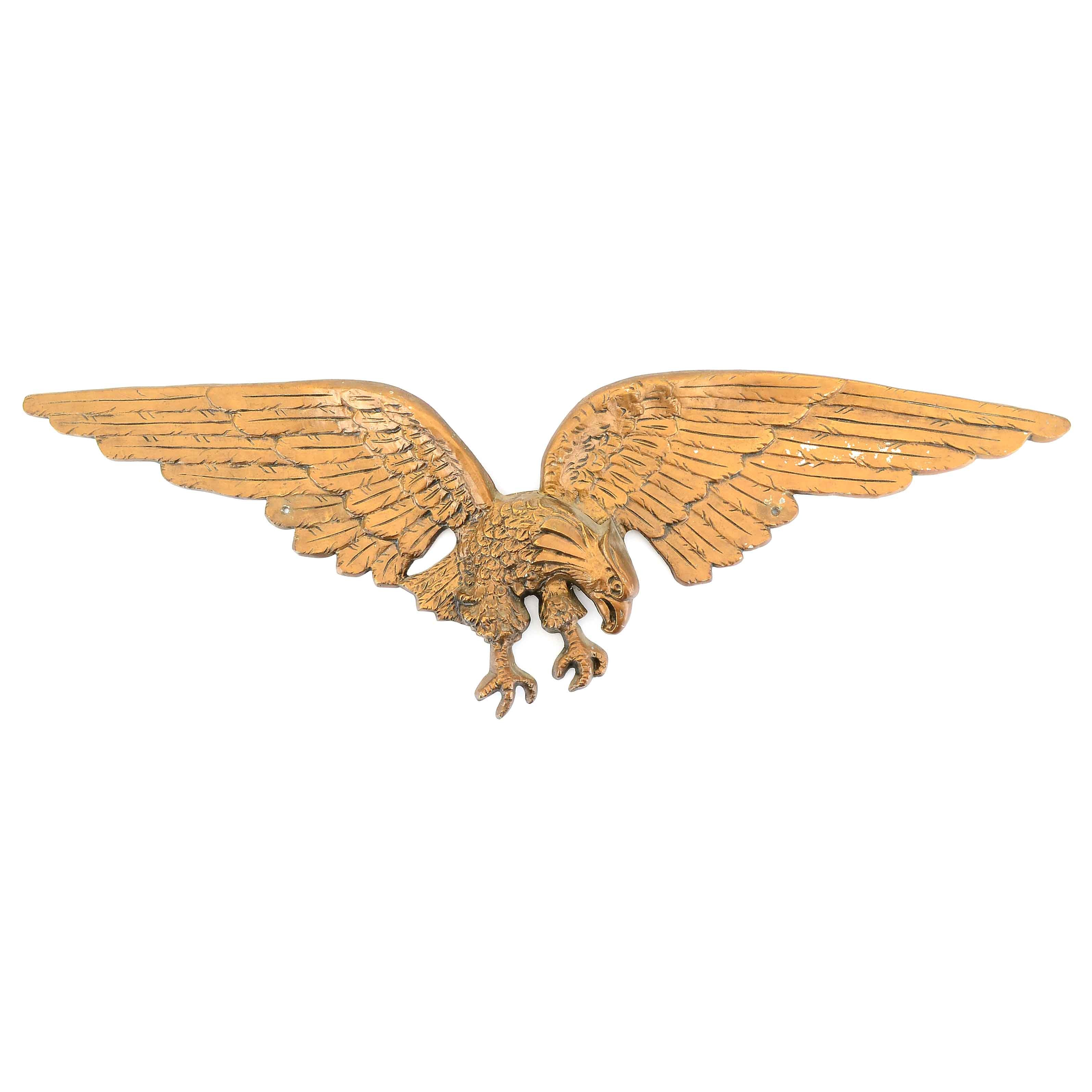 1970s Eagle Wall Casting
