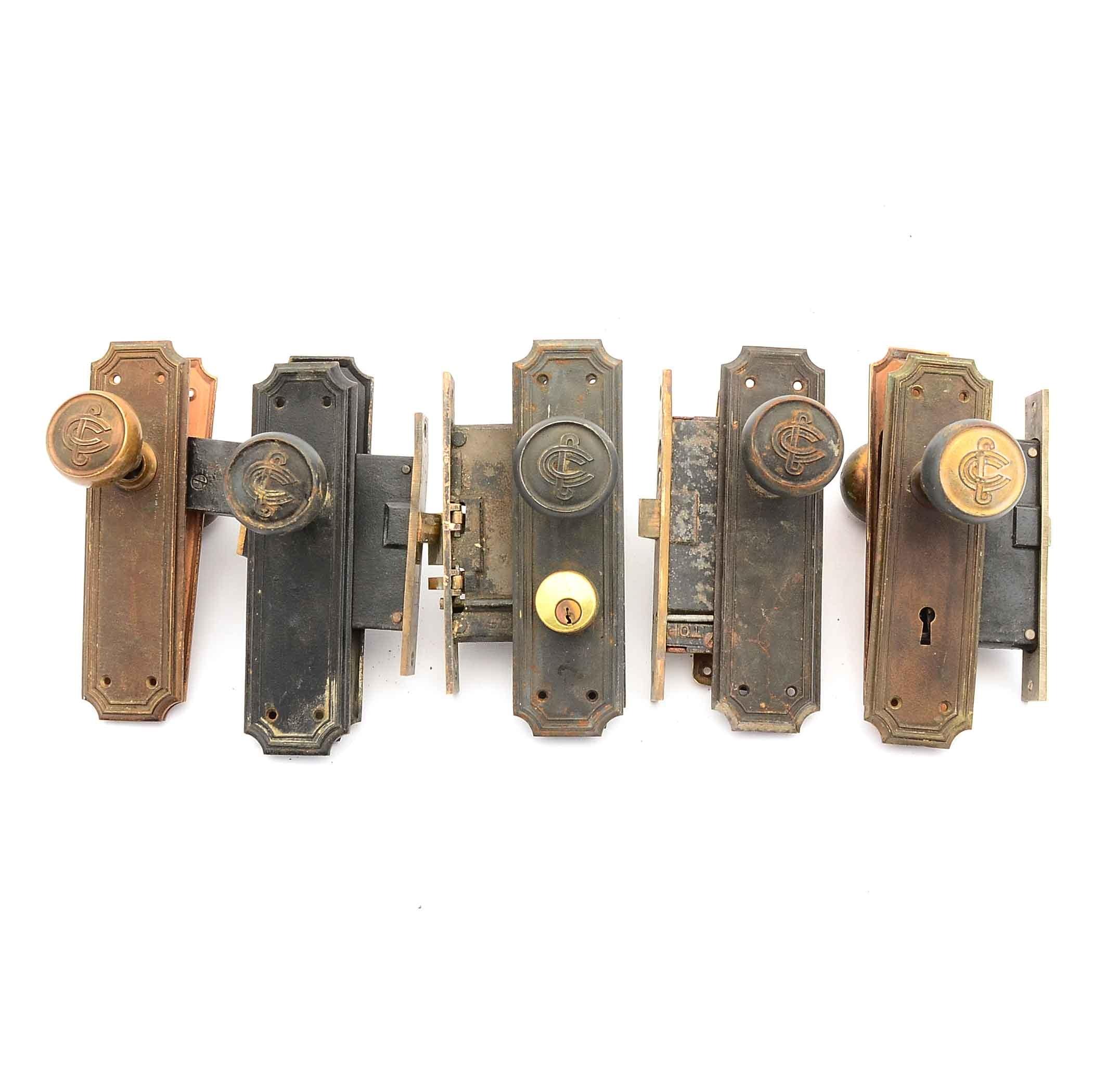 Collection of Vintage Door Hardware