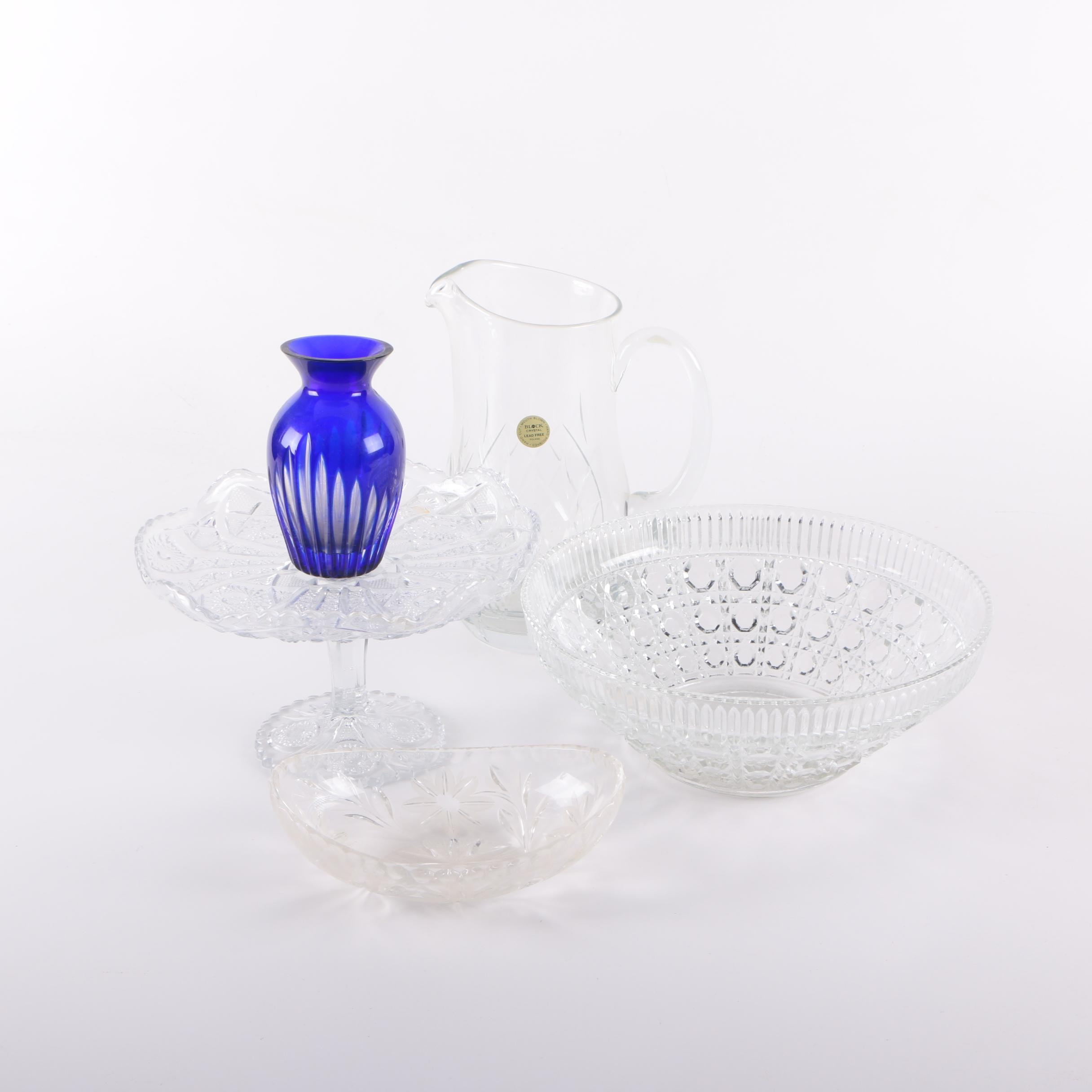 Collection of Crystal and Glass Tableware
