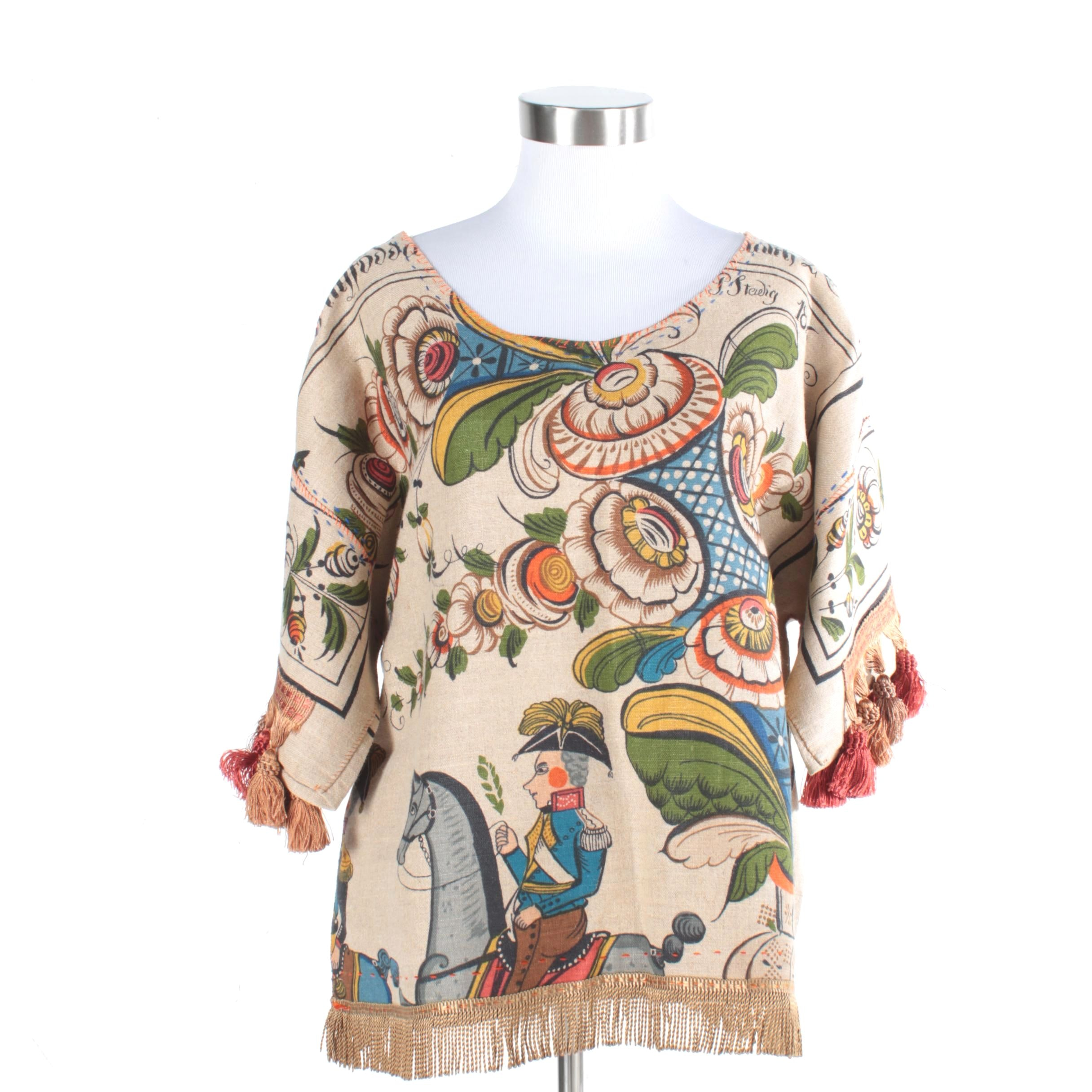 Women's French Motif Pullover
