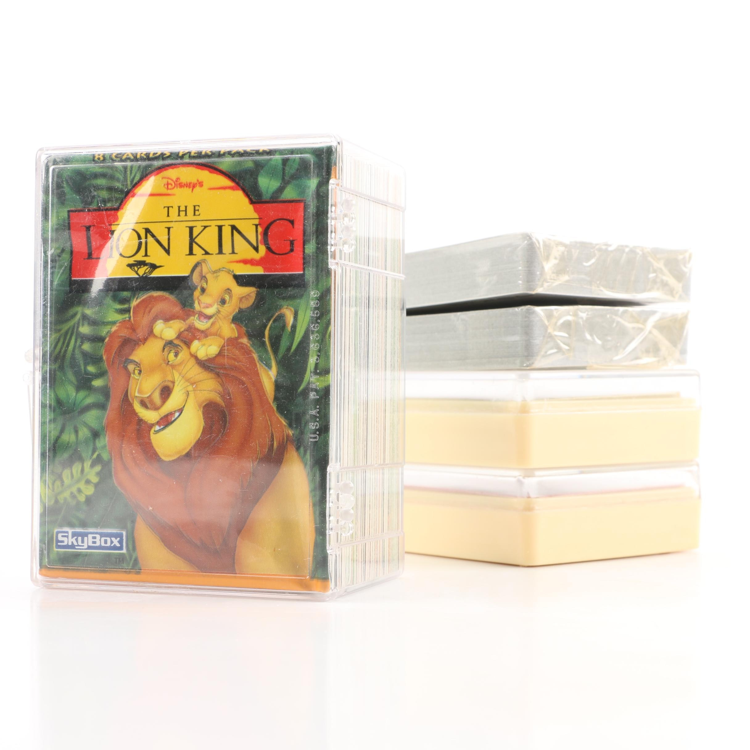 """Playing Card Decks and """"The Lion King"""" Trading Cards"""